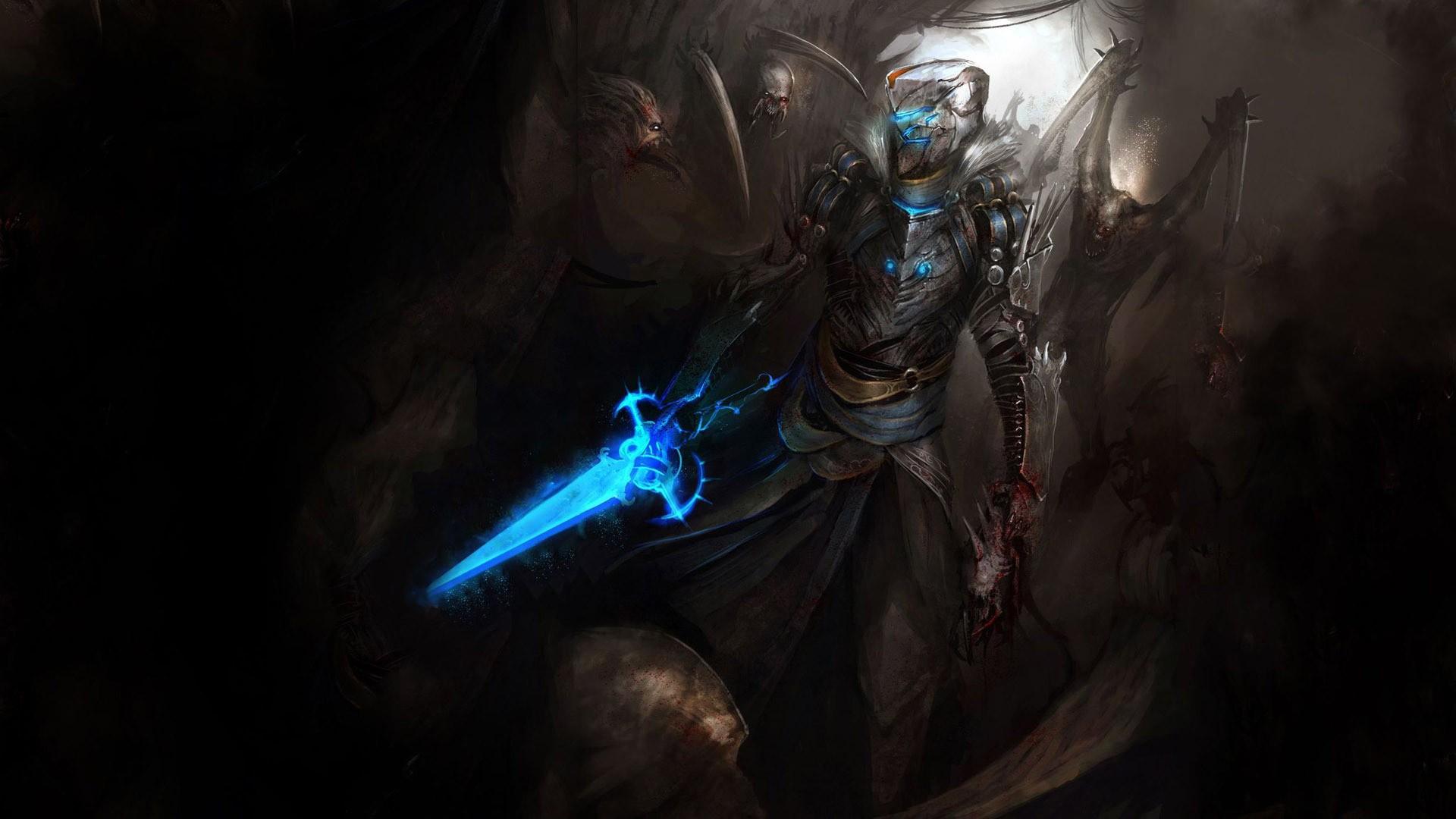 Video Games Knight Artwork Warrior Dead Space Medieval Isaac Clarke Darkness Screenshot Computer Wallpaper