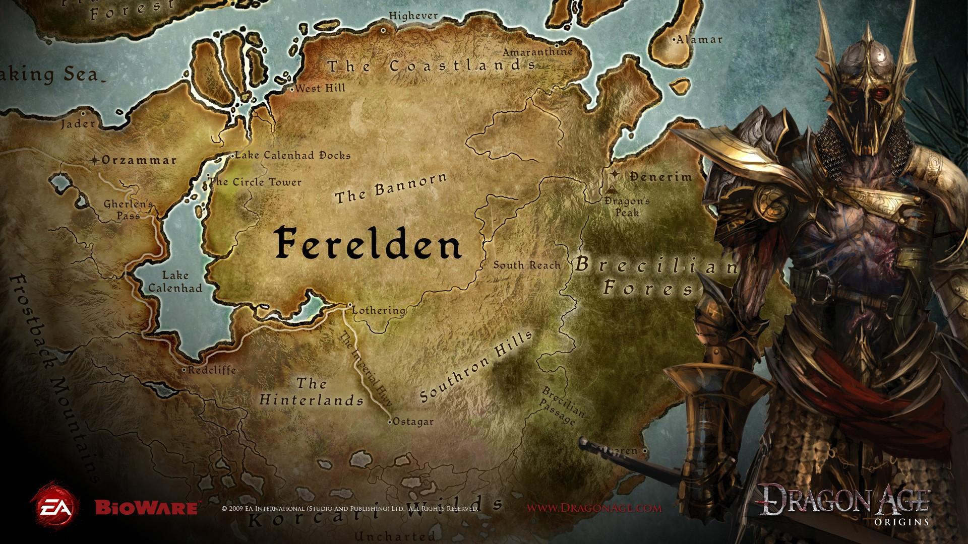 Wallpaper : video games, map, Dragon Age, mythology, Dragon ...