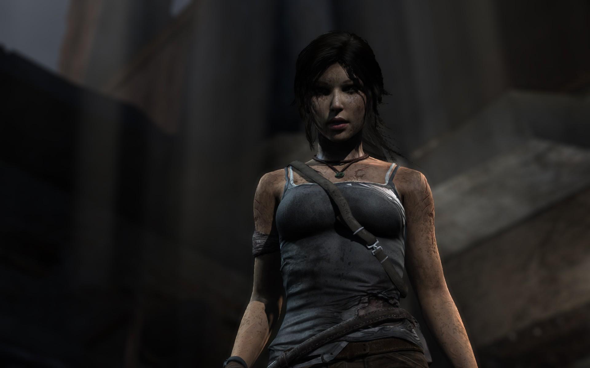 Wallpaper Video Games Model Cgi Fashion Lara Croft Tomb