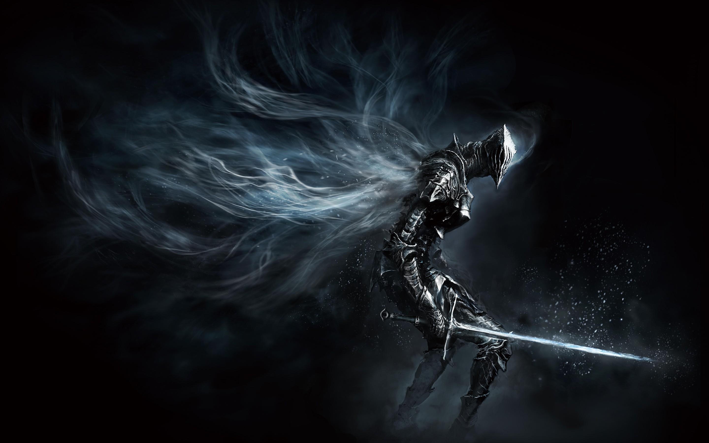 Wallpaper Video Games Dark Knight Weapon Artwork Armor Sword Concept Art Souls III Warrior Darkness Screenshot