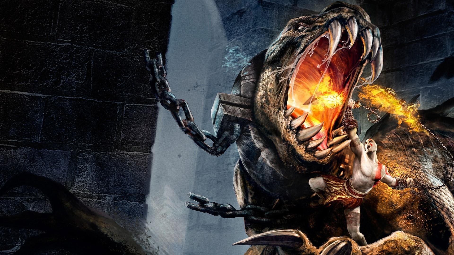 Fond d'écran : jeux vidéo, mythologie, Dieu de la guerre, Kratos, obscurité, capture d'écran ...