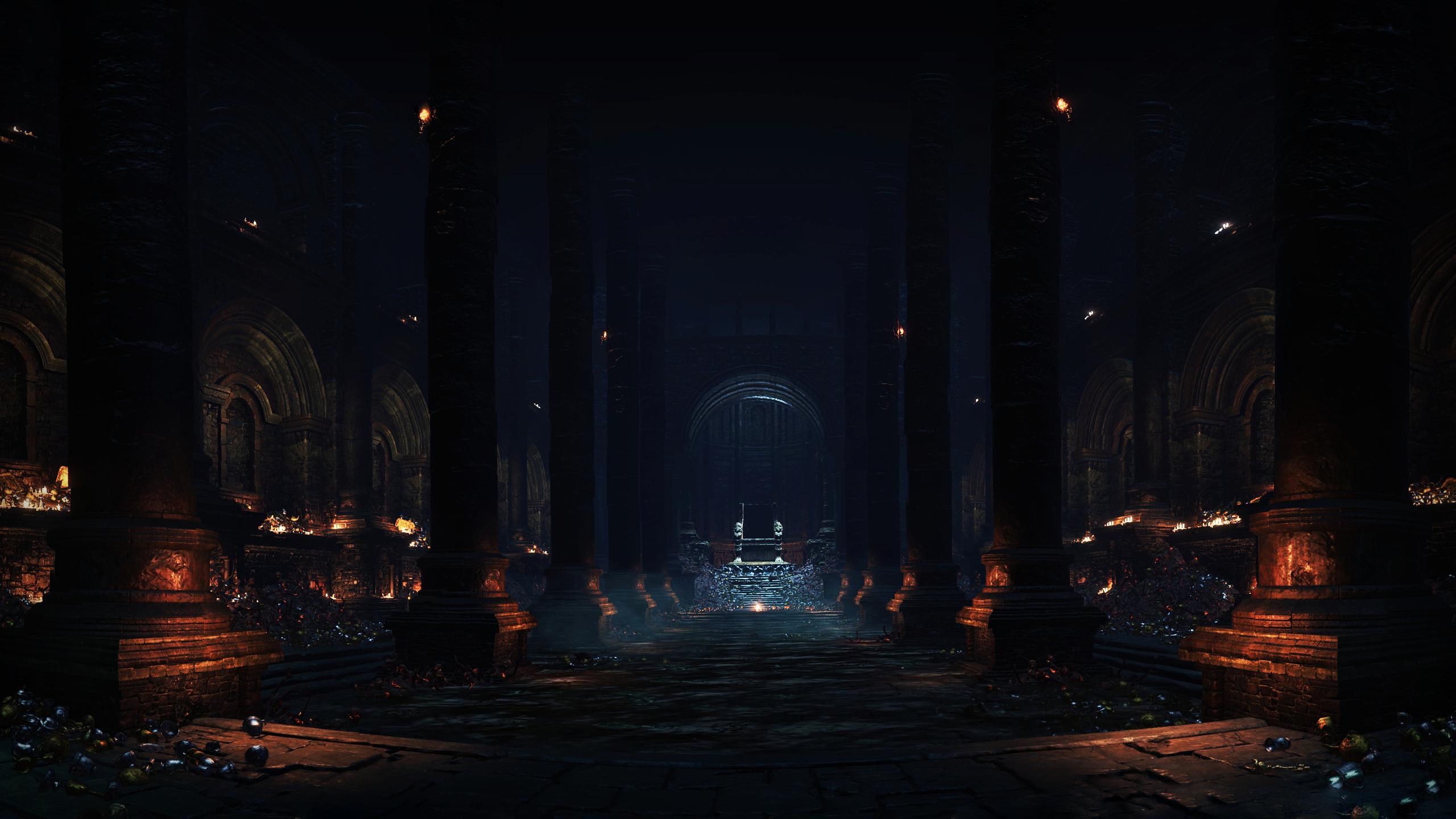 Amazing Wallpaper Night Evening - video-games-night-evening-Dark-Souls-III-midnight-Yhorm-the-Giant-Profaned-Capital-light-lighting-darkness-screenshot-33217  Trends-38774.png