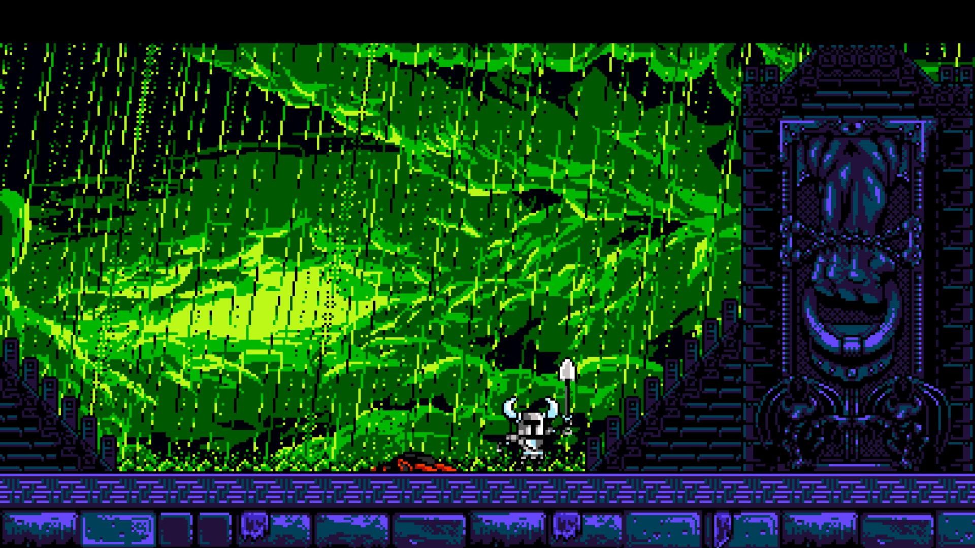Wallpaper Video Games Night Pixel Art Green Retro Games 16 Bit 8 Bit Shovel Knight Darkness Screenshot Computer Wallpaper Font 1920x1080 Bas123 62076 Hd Wallpapers Wallhere