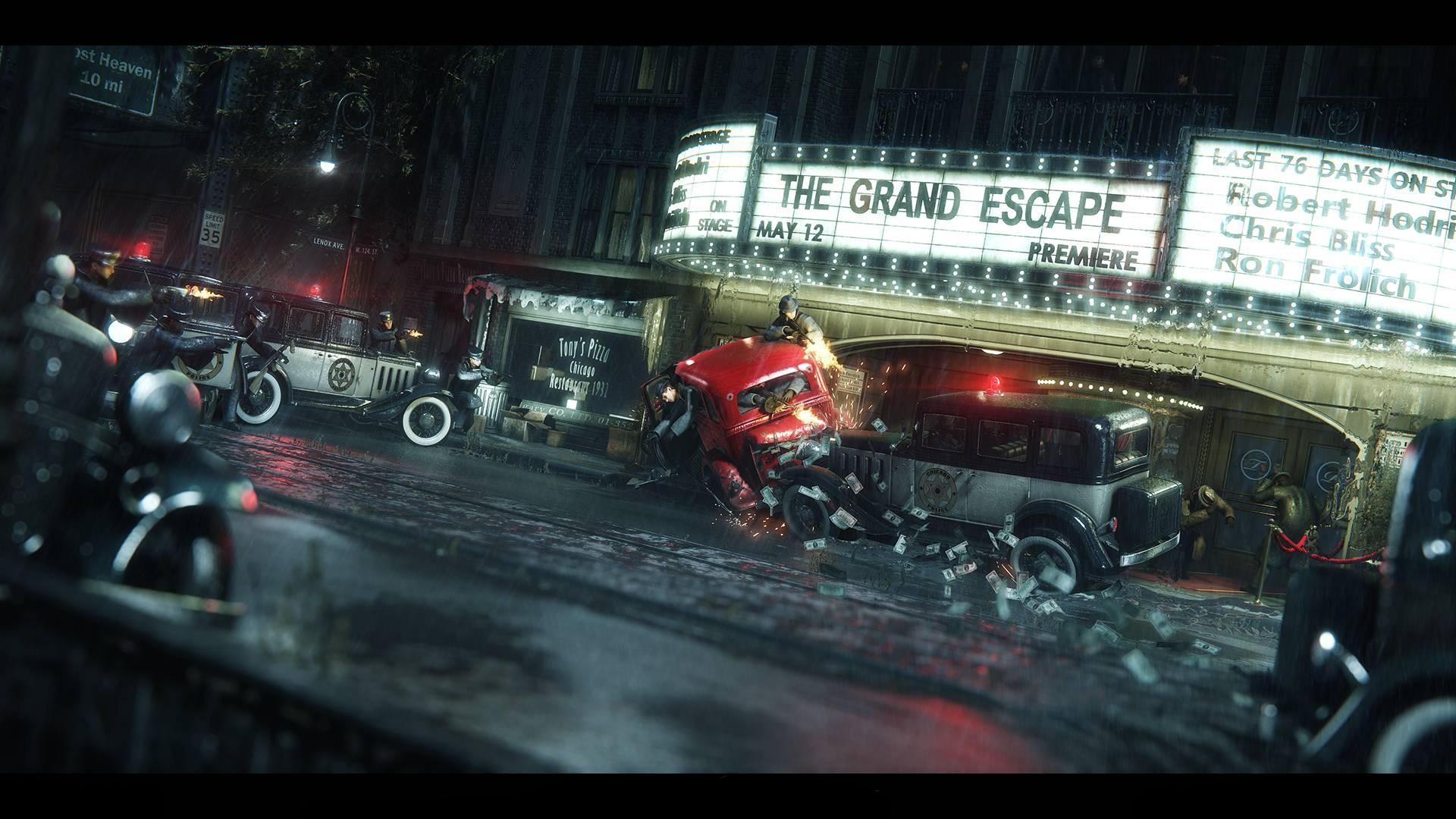 Wallpaper Video Games Night Vehicle Mafia Iii Darkness