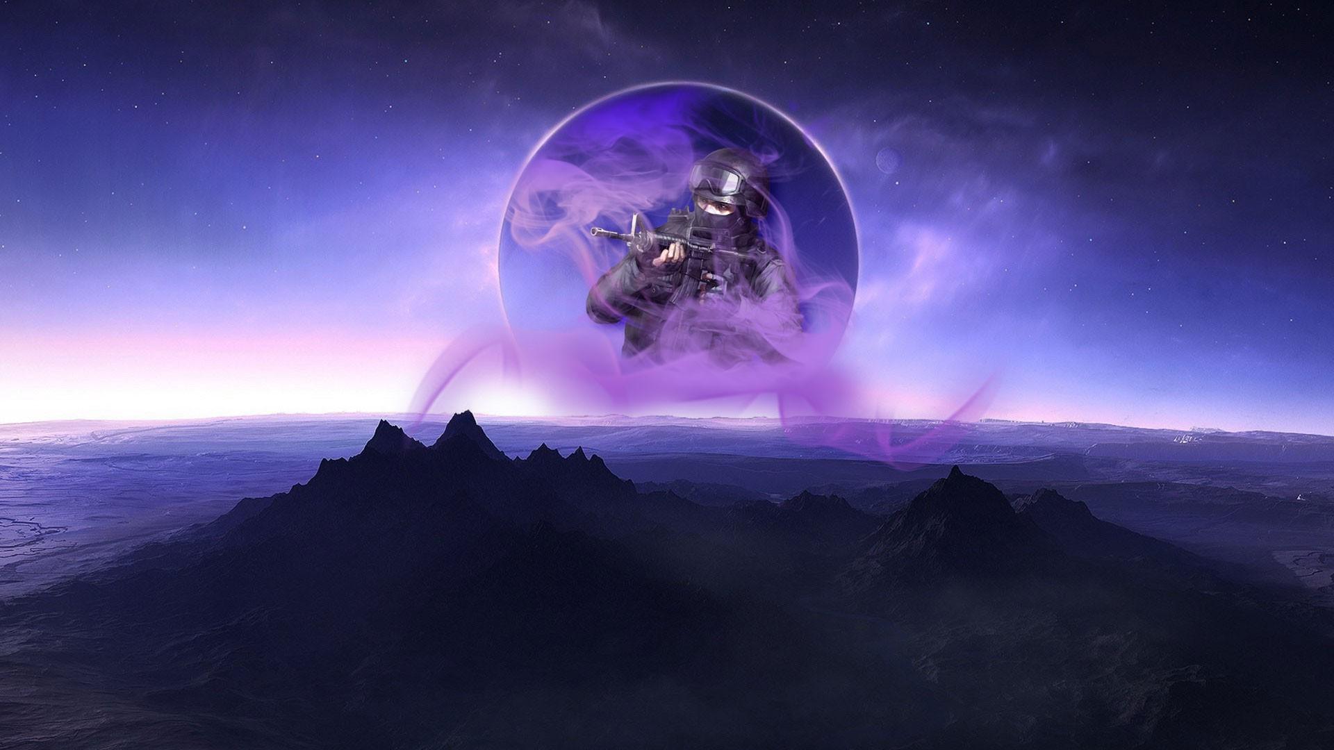 Fondos De Pantalla Videojuegos Planeta Púrpura Fumar