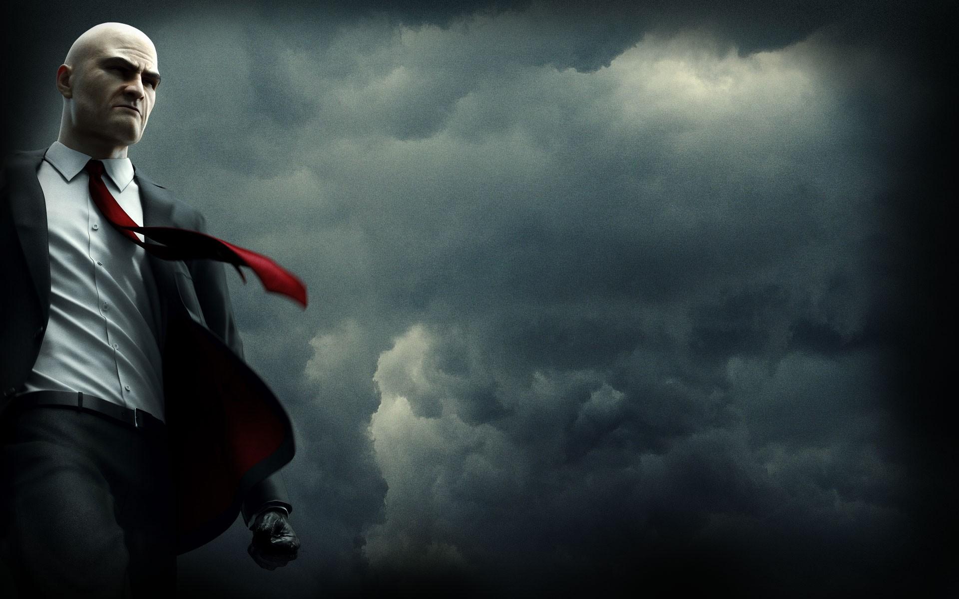 Wallpaper Video Games Sky Thunder Hitman Absolution Cloud