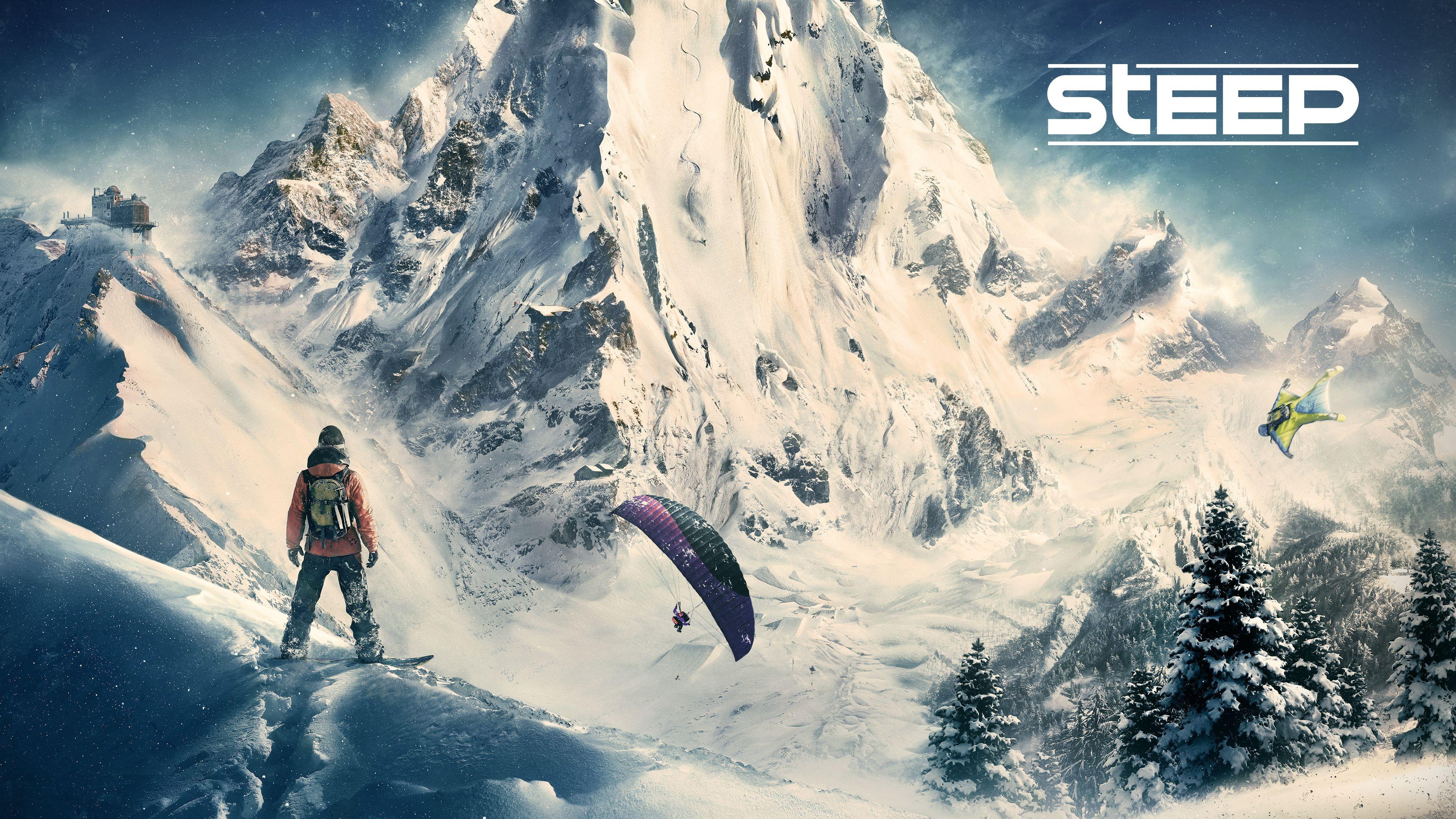 Video Games Snow Winter Ubisoft Snowboard Steep Skiing Ski Mountain Weather Piste Screenshot Computer Wallpaper Atmosphere