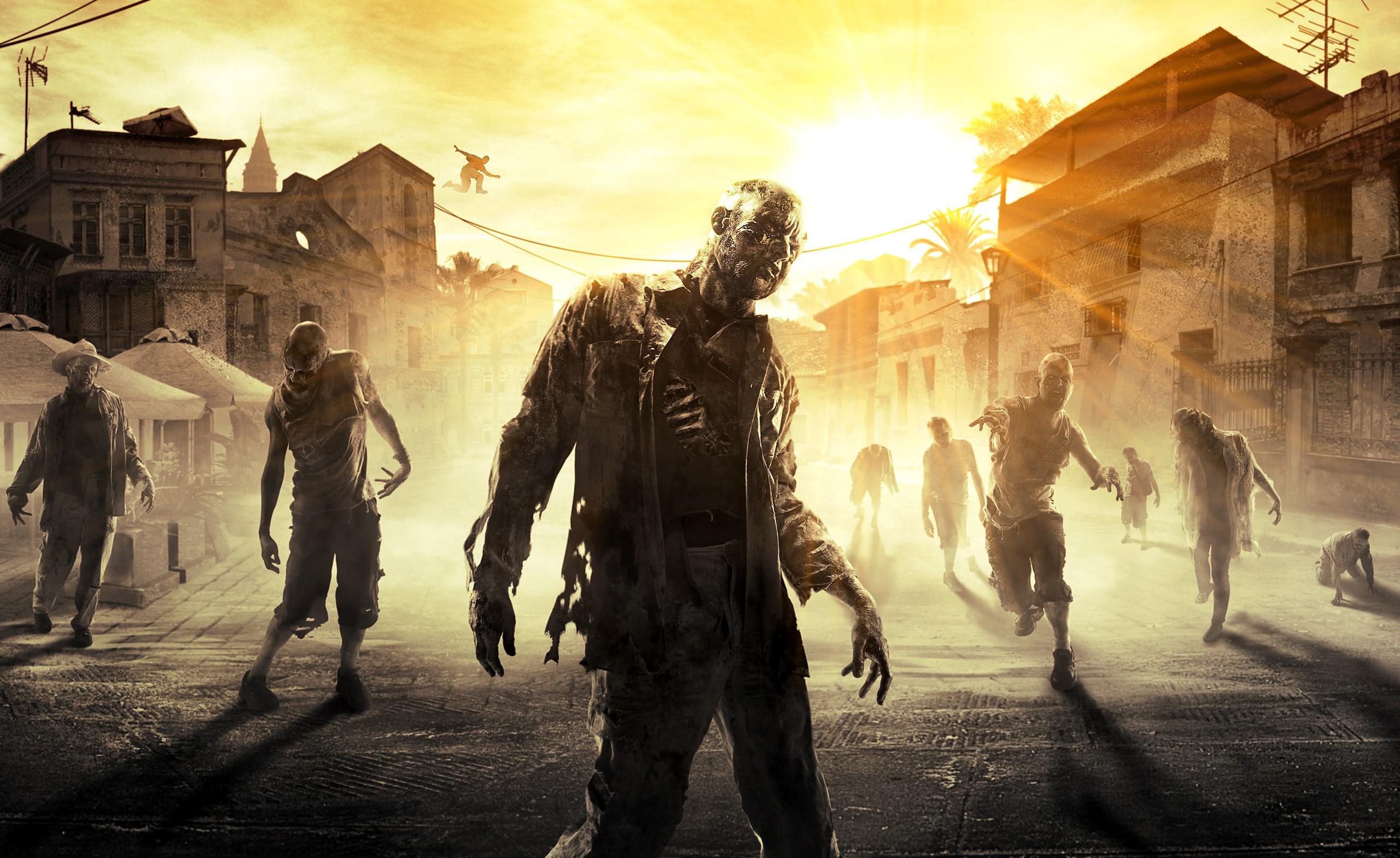 Wallpaper Video Games Soldier Dying Light Screenshot