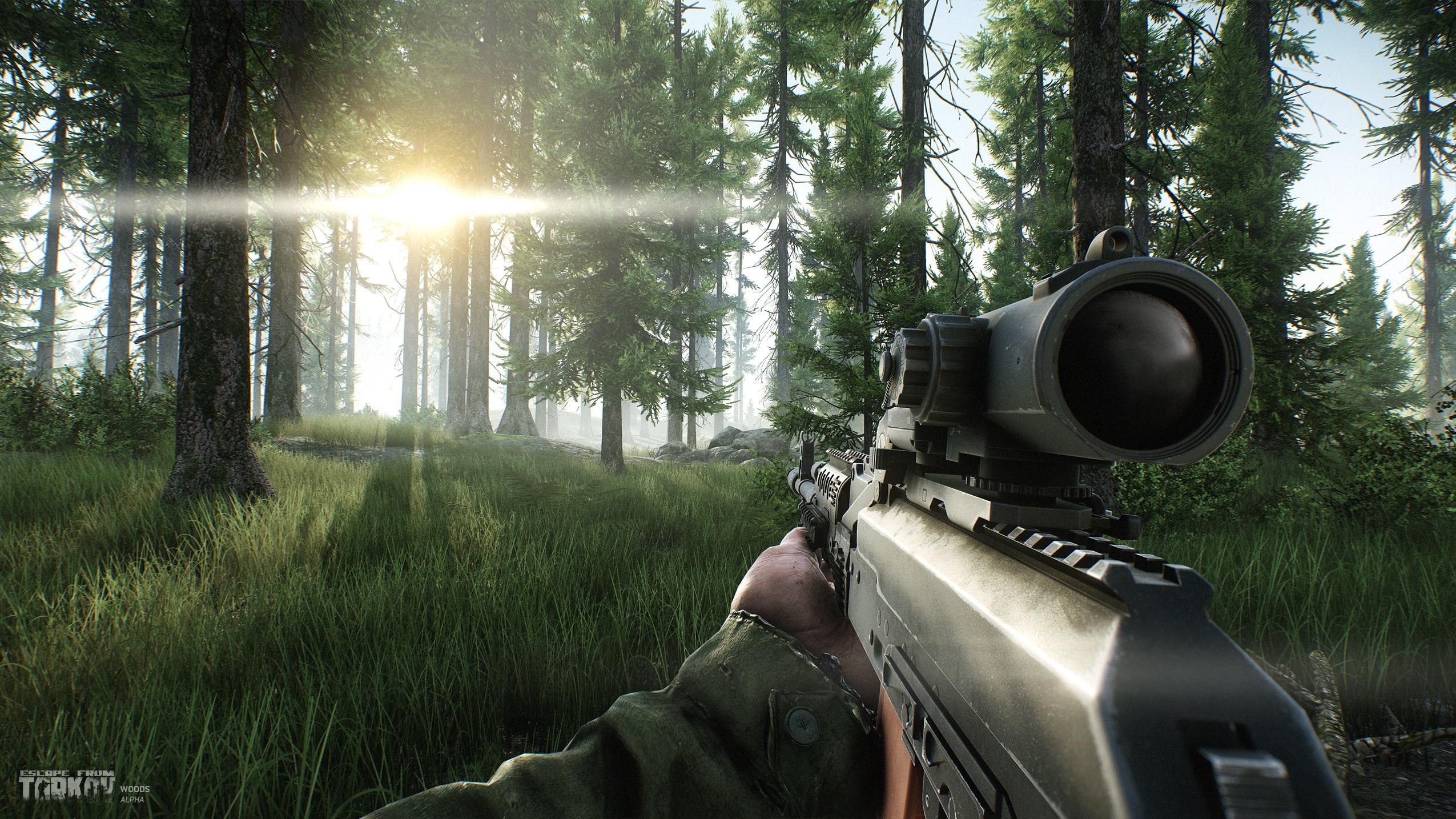 Wallpaper Video Games Soldier Escape From Tarkov War Game