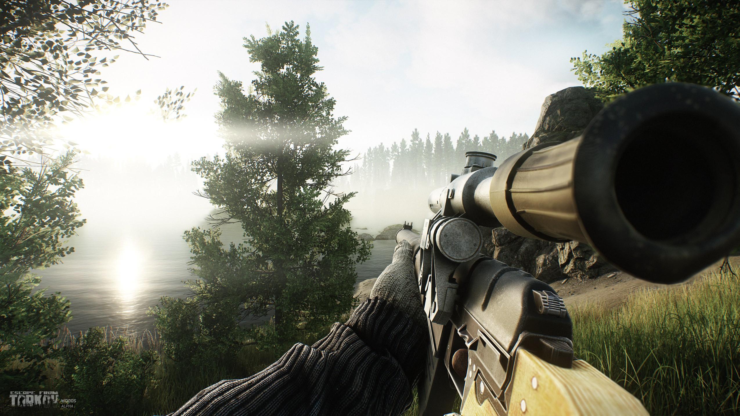 Wallpaper Video Games Soldier Escape From Tarkov