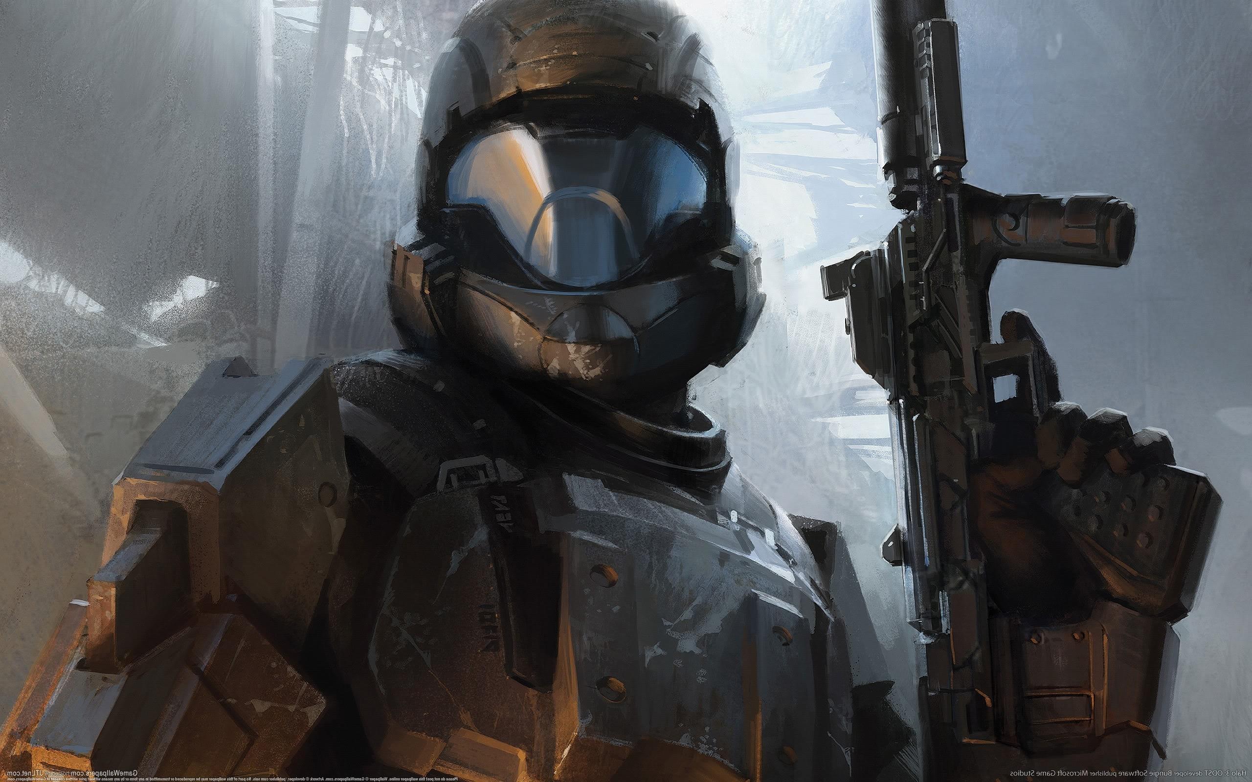 Wallpaper : video games, soldier, sculpture, machine, Halo 3