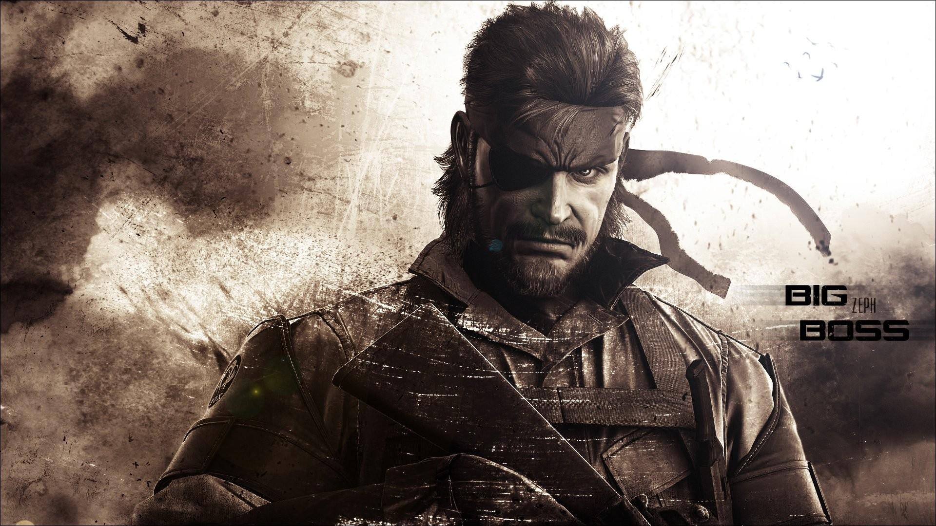 Fond Décran Jeux Vidéo Soldat Serpent Metal Gear Solid Metal