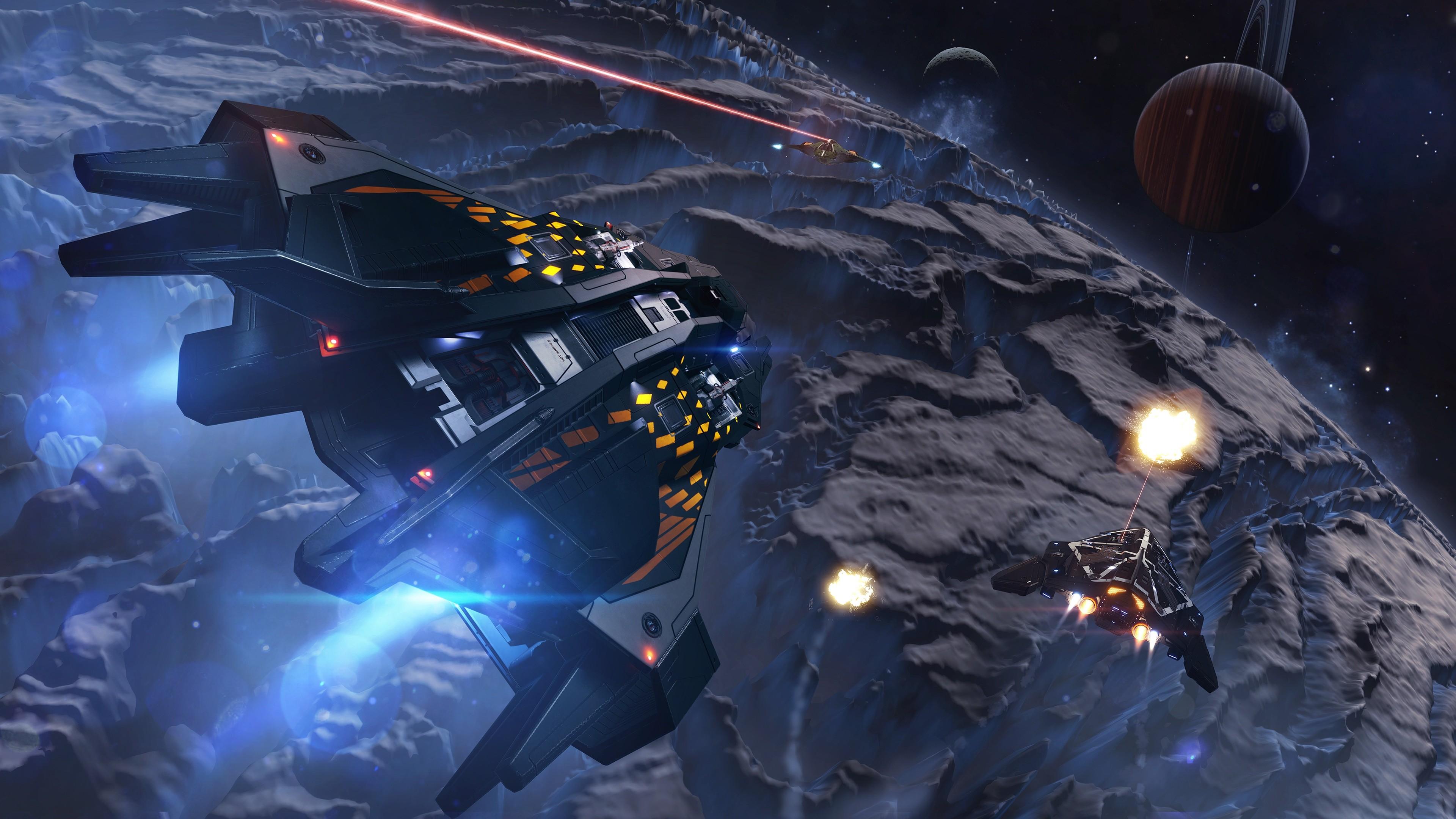 デスクトップ壁紙 ビデオゲーム スペース 車両 エリート危険な スクリーンショット 宇宙船 コンピュータの壁紙 地球の雰囲気 宇宙空間 天体 3840x2160 Thorragnarok デスクトップ壁紙 Wallhere