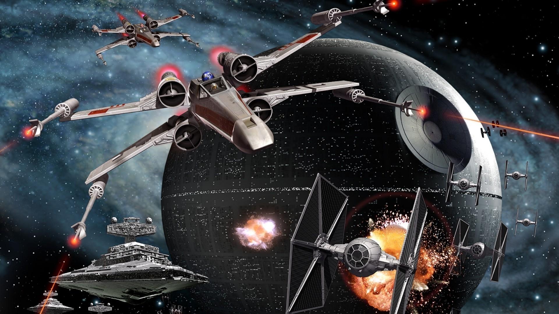 Wallpaper Video Games Vehicle Artwork Tie Fighter Star