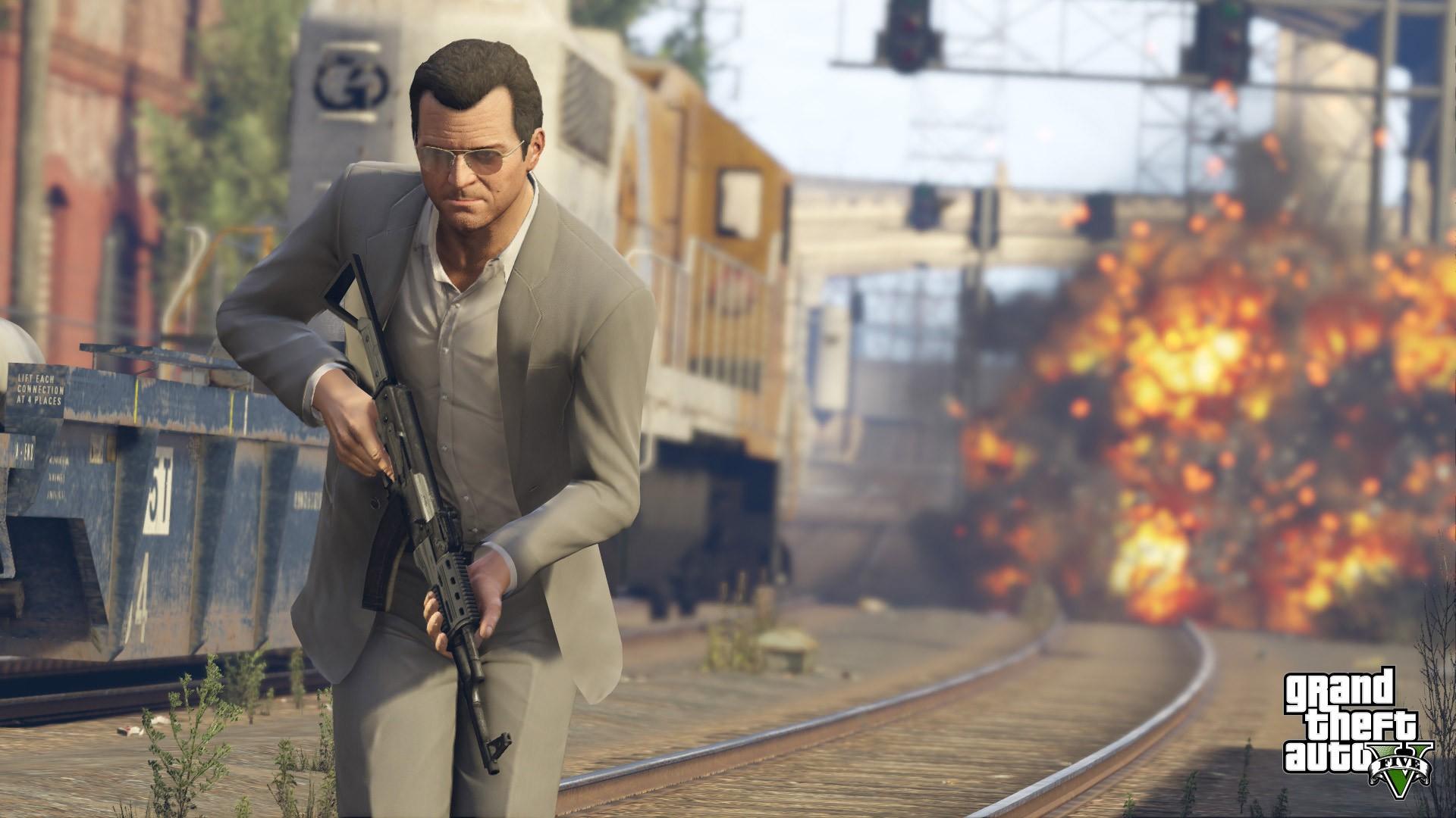 Fond Décran Jeux Vidéo Rue Véhicule Route Grand Theft Auto V