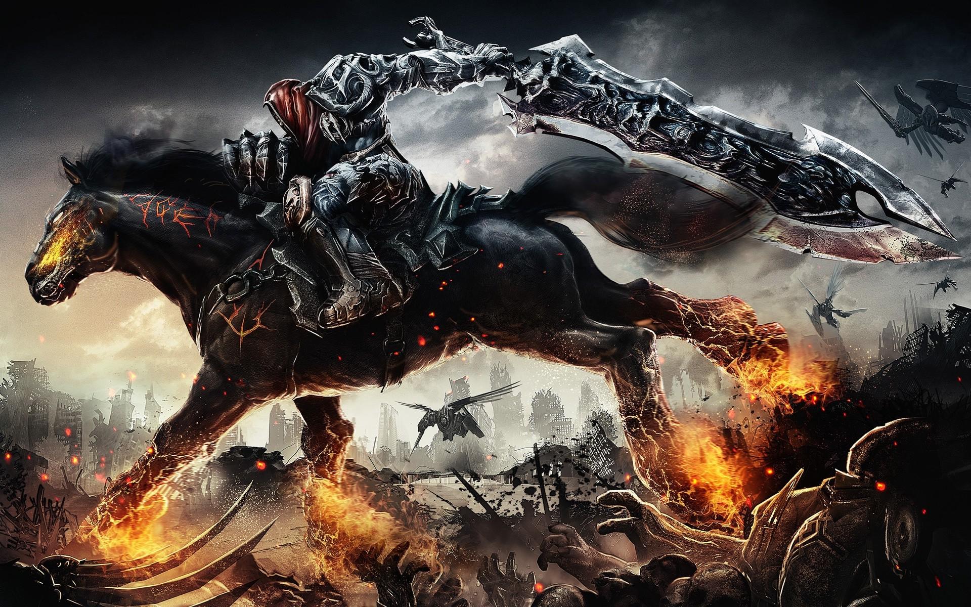 Video Games War World Of Warcraft Mythology Dark Siders Screenshot 1920x1200 Px Computer Wallpaper Fictional Character