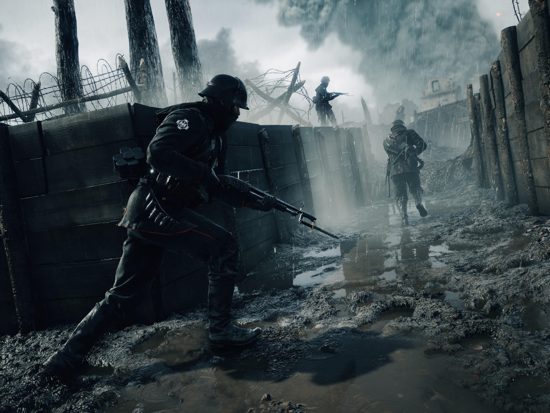 Video Games War Soldier World I Battlefield 1 EA DICE Darkness Screenshot Pc Game