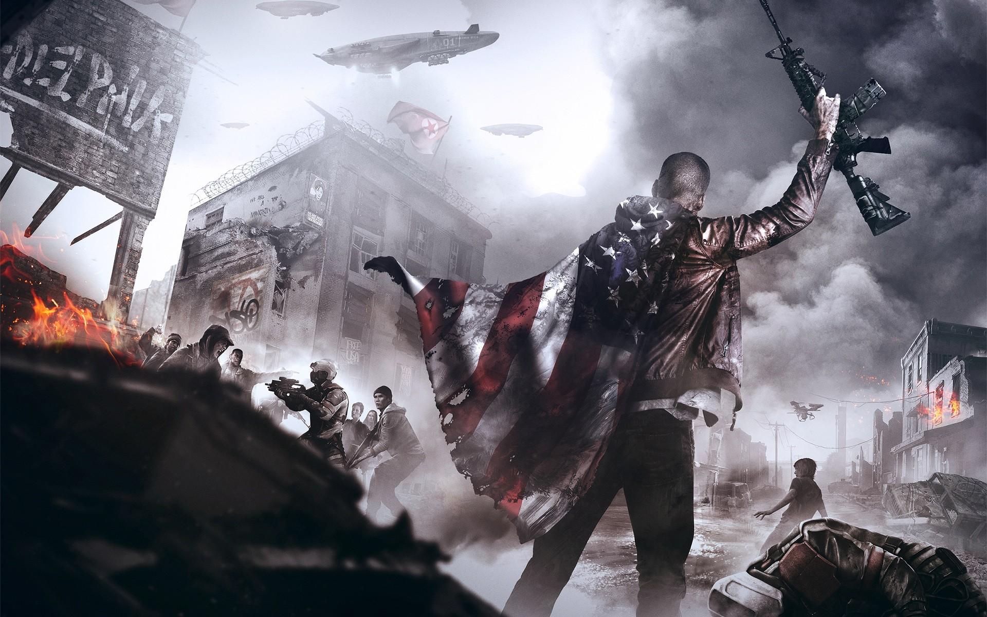 wallpaper video games weapon concept art american flag rh wallhere com