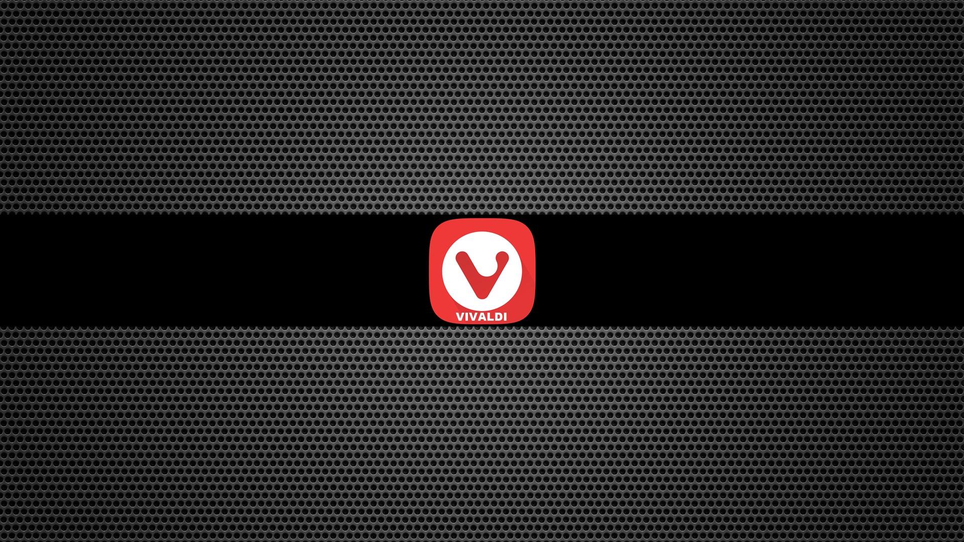 Vivaldi Browser Metal Grid Computer Nerds Gamer