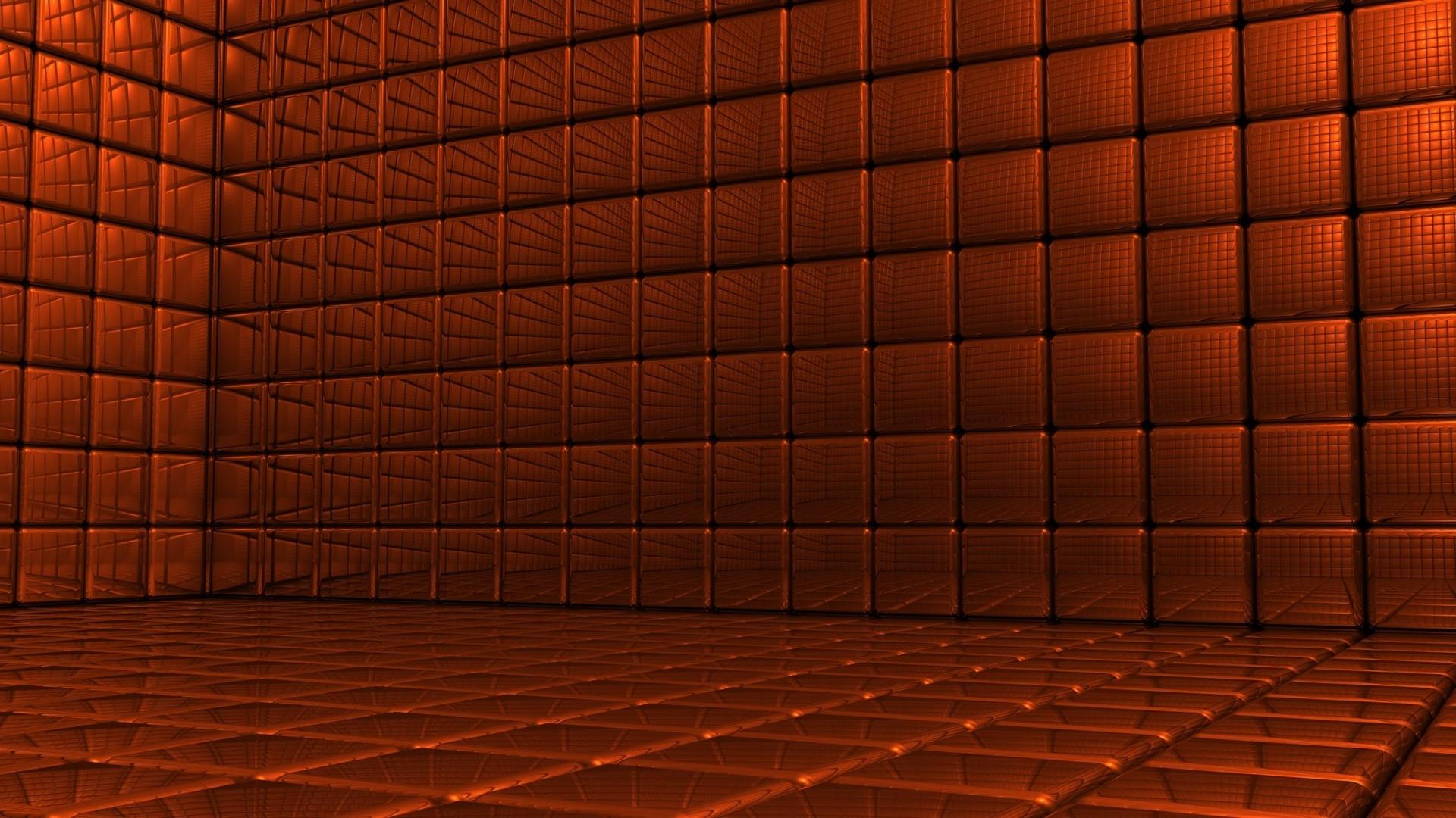 Wallpaper Wall Wood Symmetry Cube Interior Design