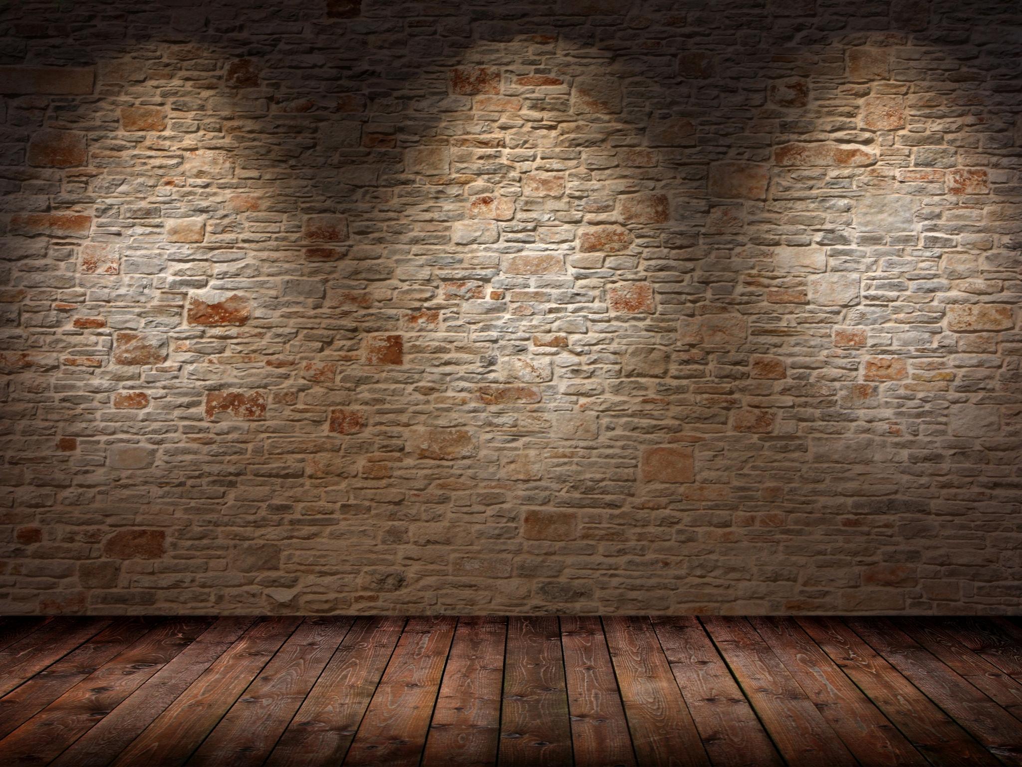 Wallpaper Walls Floor Light Shadow Surface 2048x1536