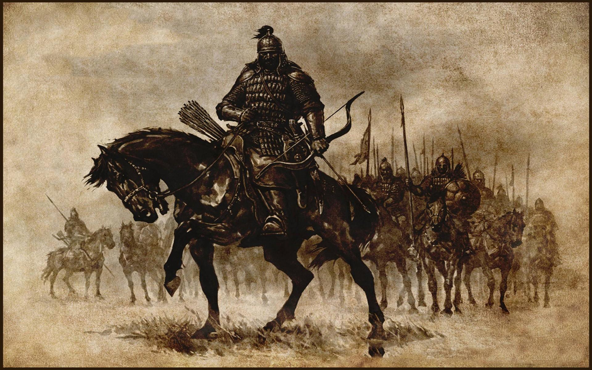 Wallpaper Warrior Mount And Blade Archer Video Games Horse