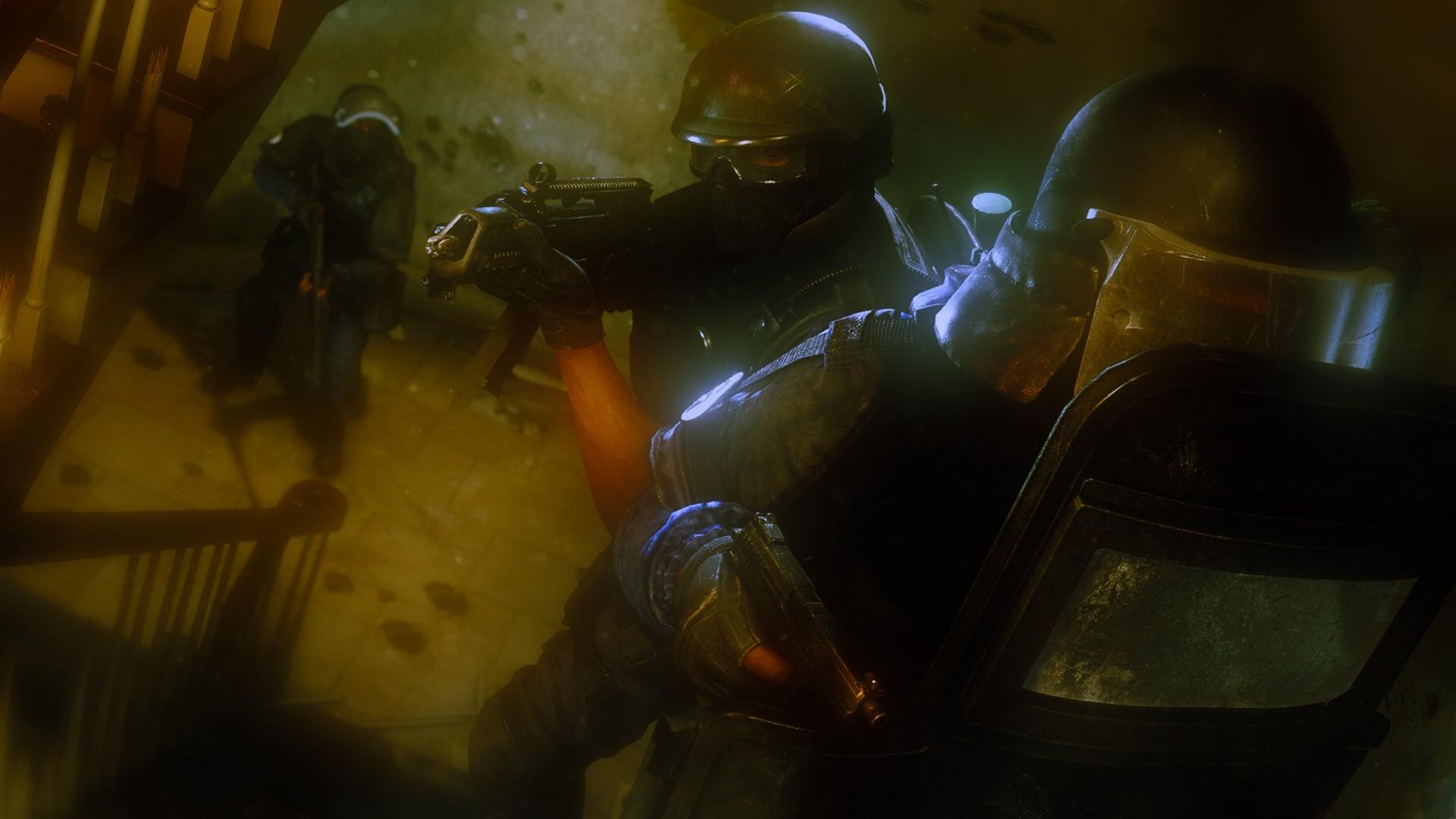 Wallpaper : water, Rainbow Six Siege, SWAT, darkness