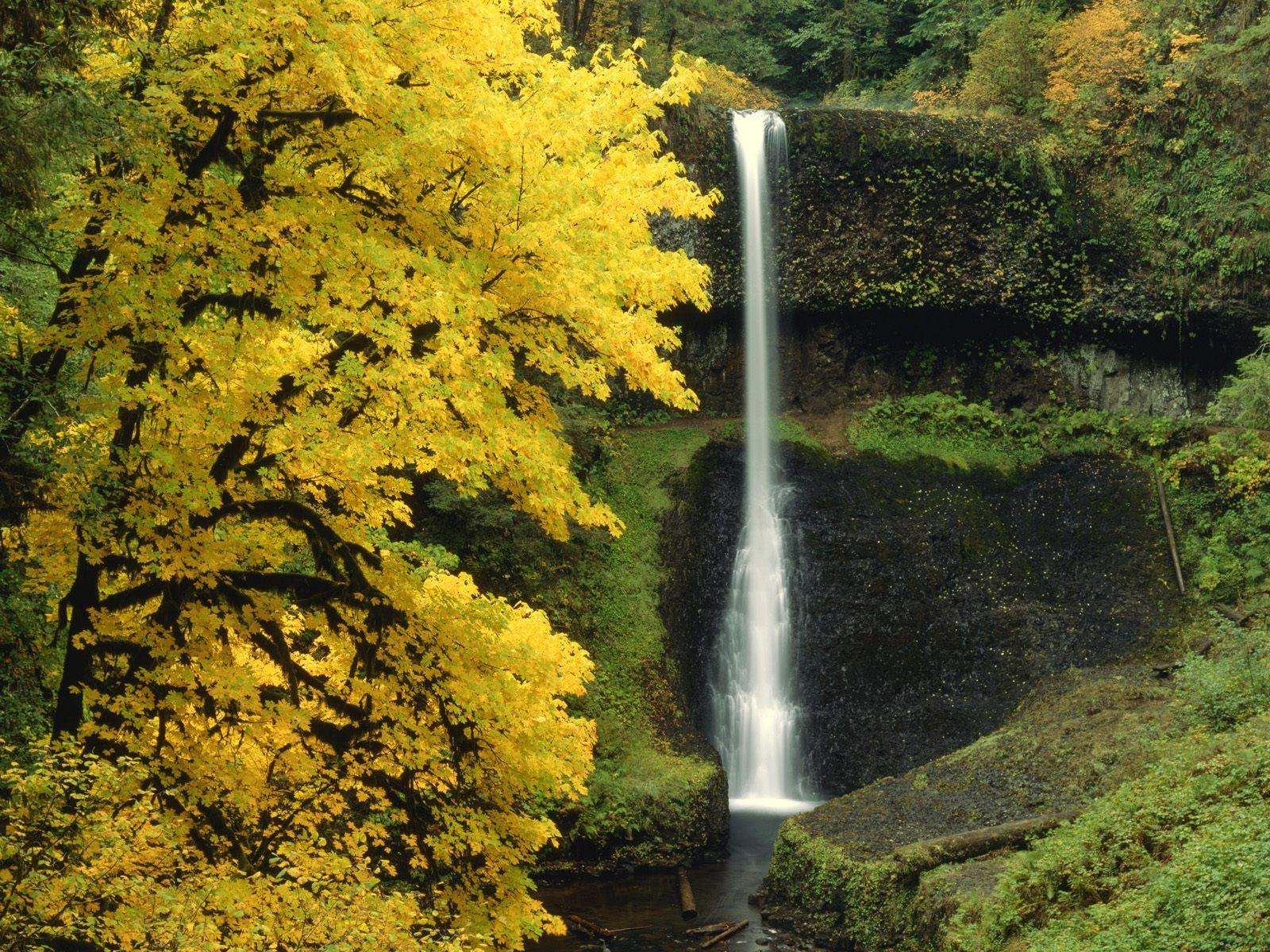 foto de Fond d'écran : cascade, l'automne, rivière, couler 1600x1200 ...