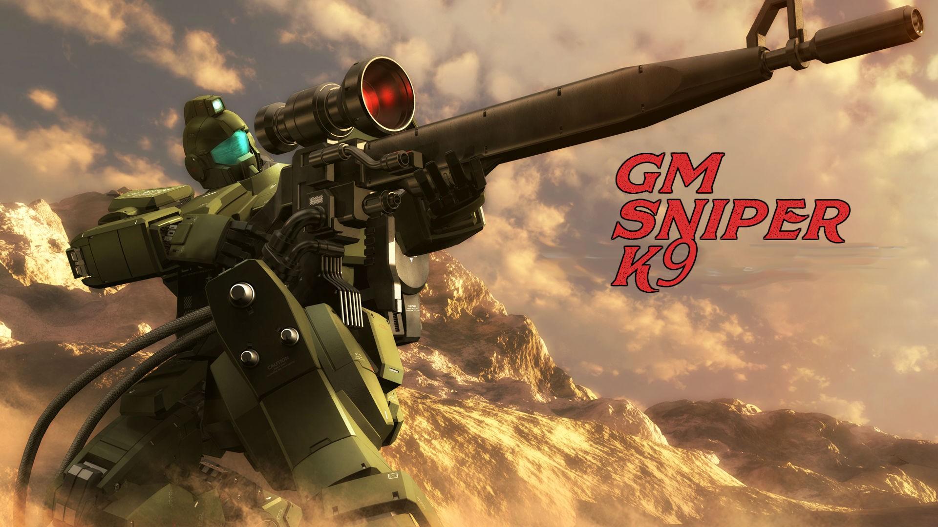 Weapon Soldier Mech Sniper Rifle Marksman Mobile Suit Gundam 0083 Stardust Memory Screenshot 1920x1080