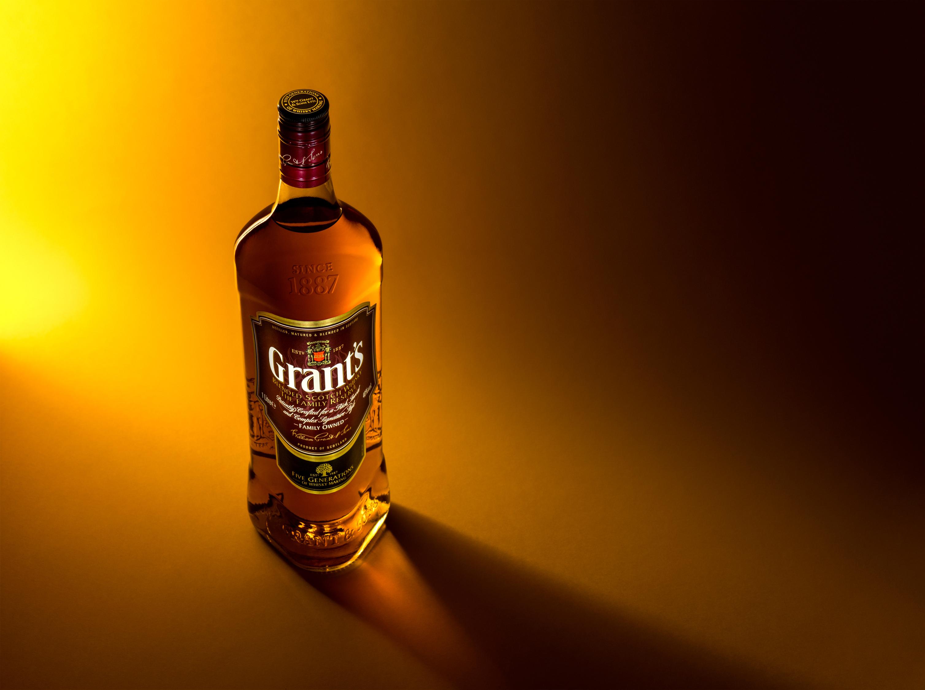 Wallpaper : Whisky, Grants, Scotland, Scotch, Bottle
