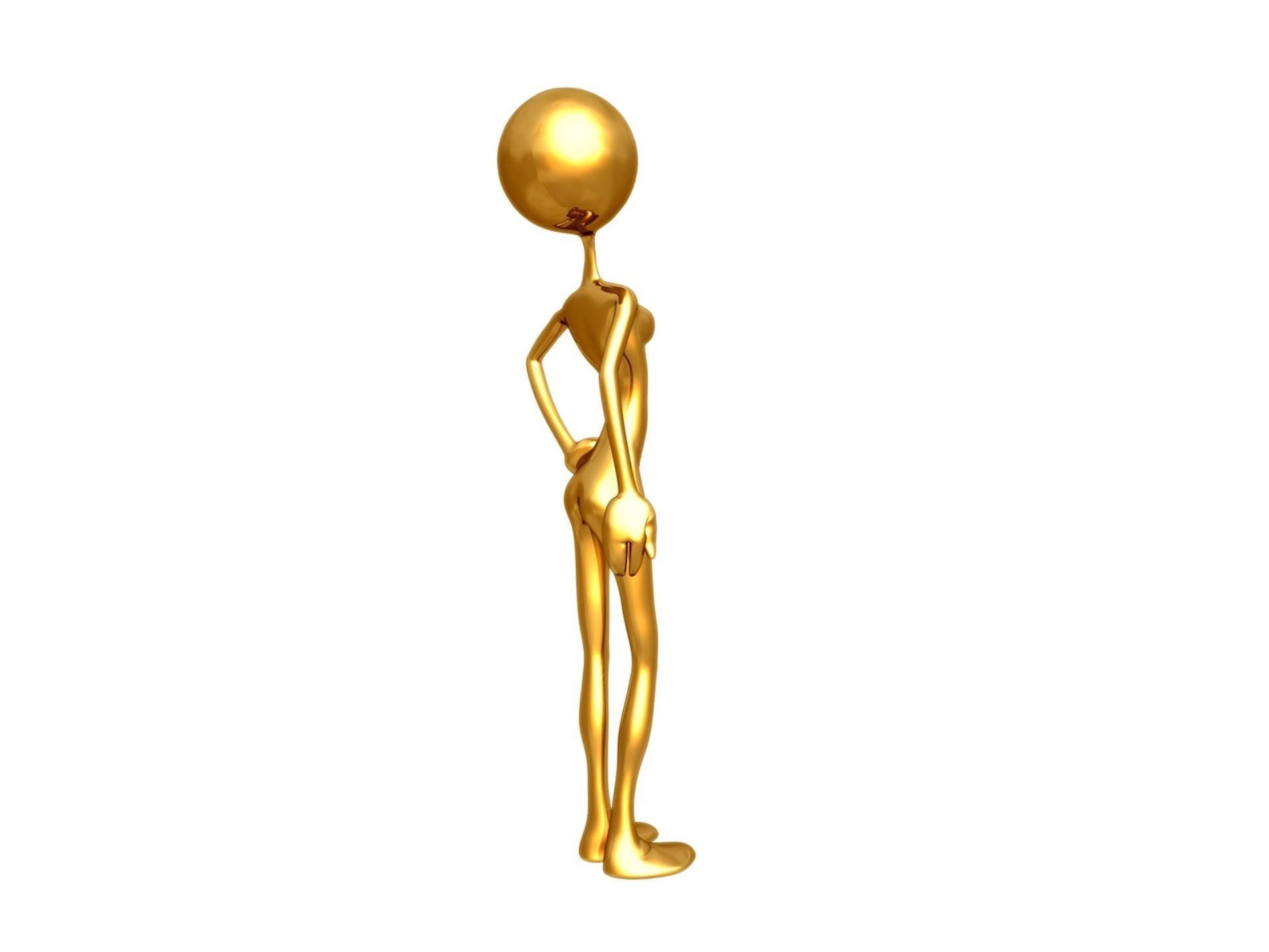 дизайнерская картинки человечков золотых отличие