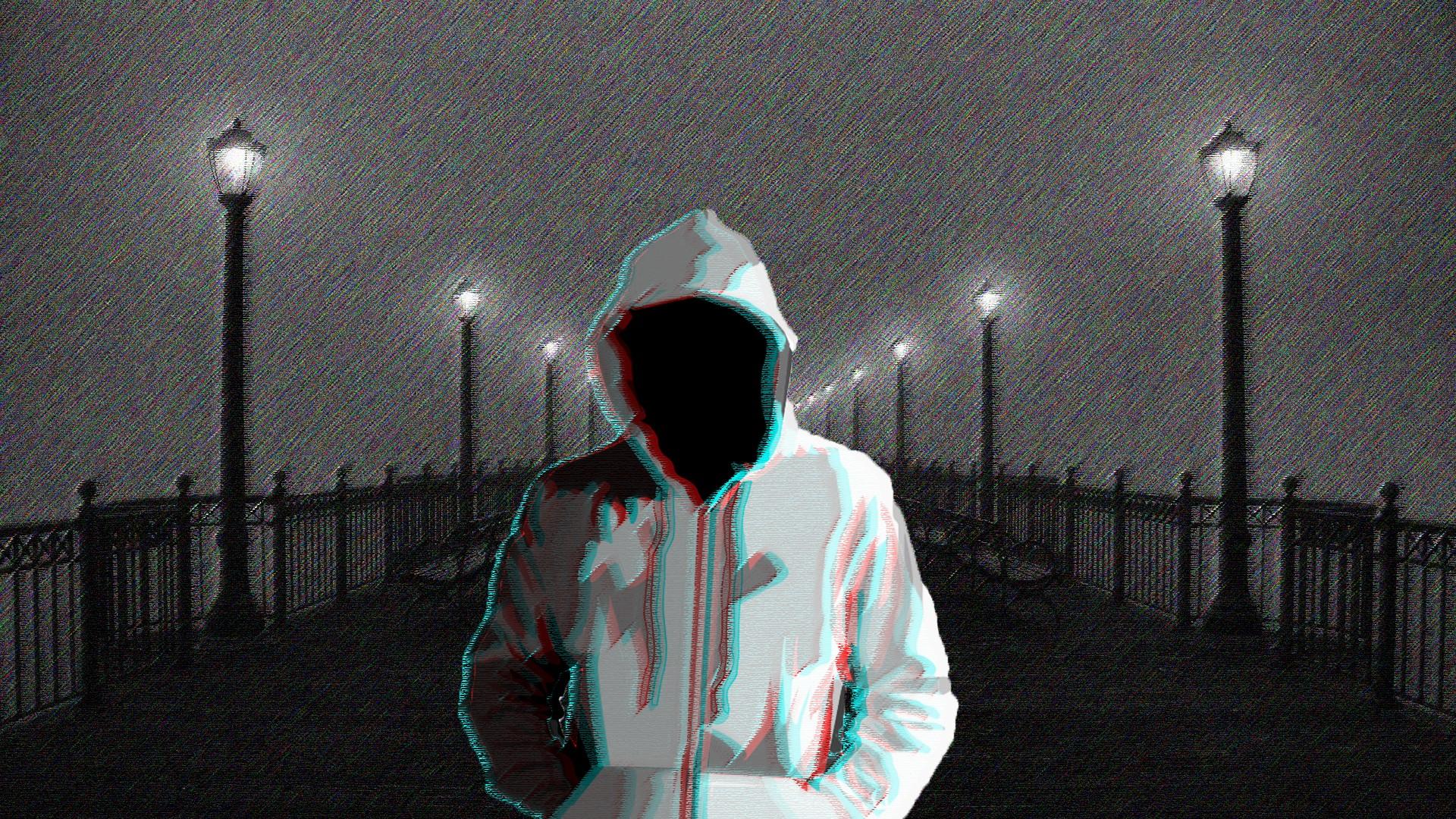trắng đen tối đêm kinh dị 3D mưa ánh sáng thắp sáng ảnh chụp bóng tối