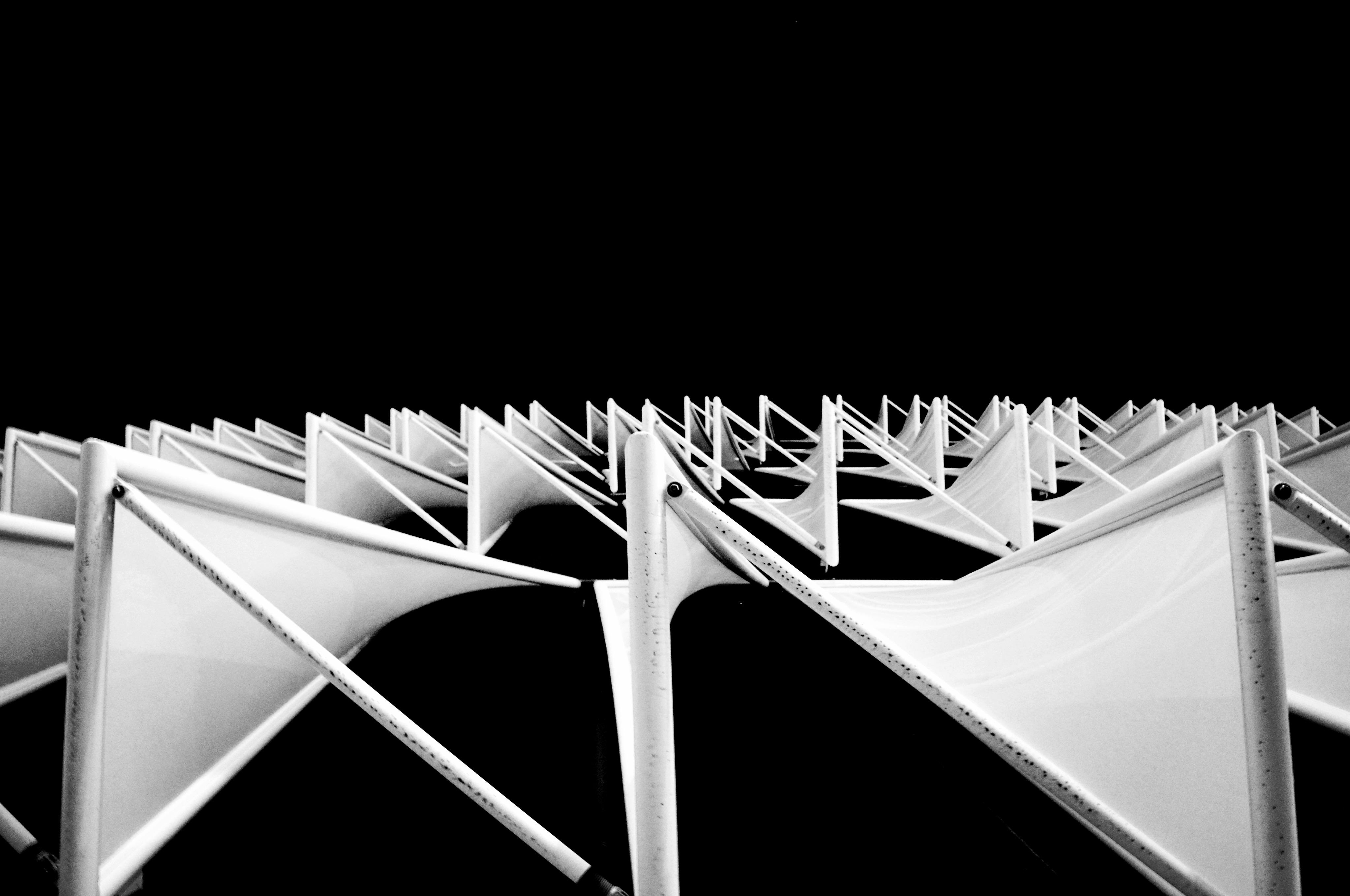 Черно-белые мосты Новосибирска | 2718x4095