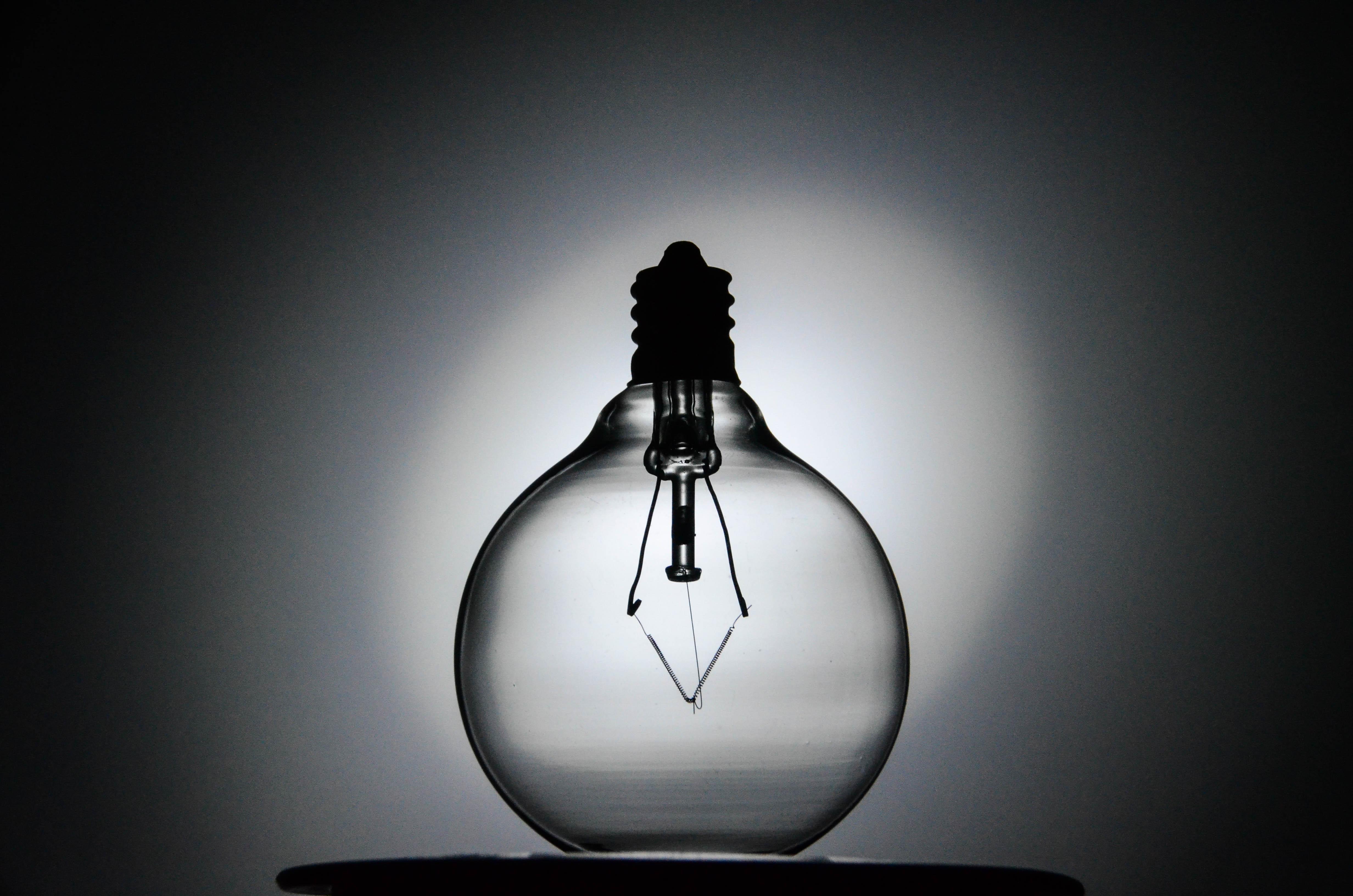 Wallpaper : dark, lightbulb, silhouette, indoors, glass, globe ... for Idea Light Bulb Wallpaper  45gtk