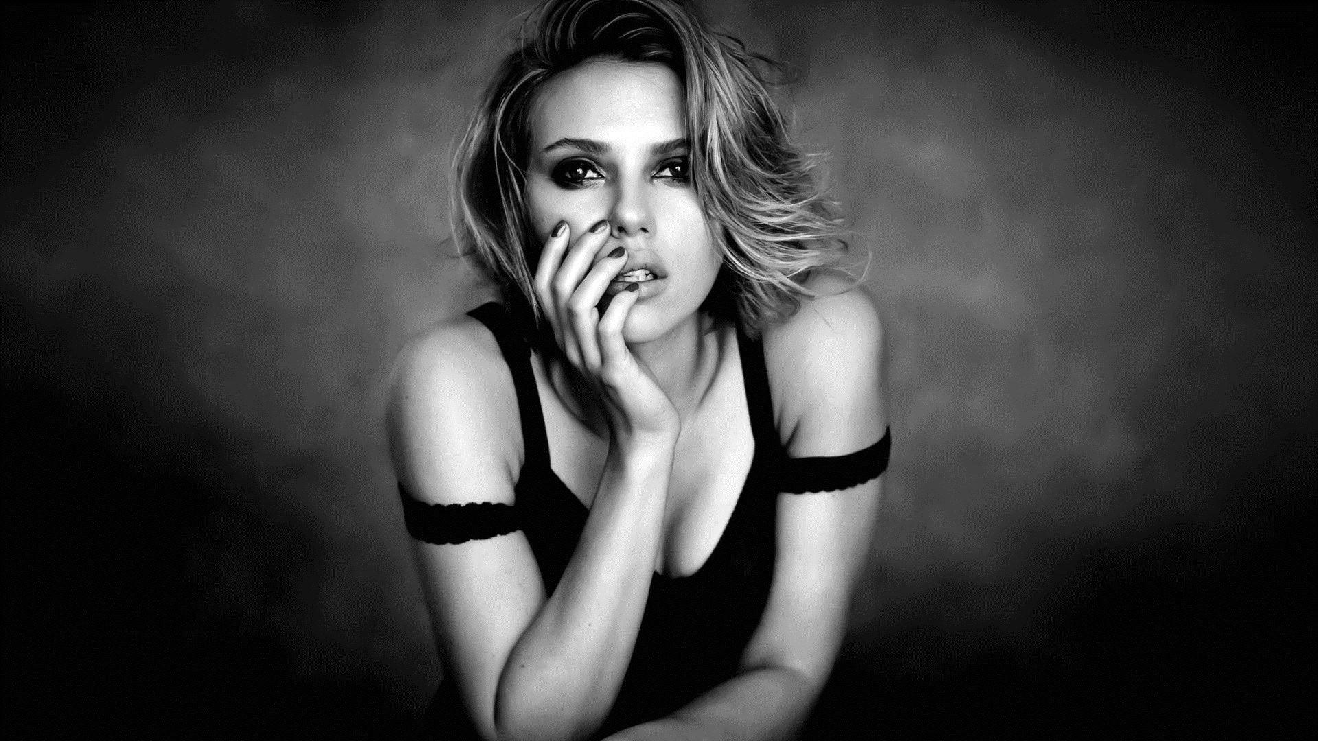 Wallpaper Women Model Celebrity Scarlett Johansson Emotion