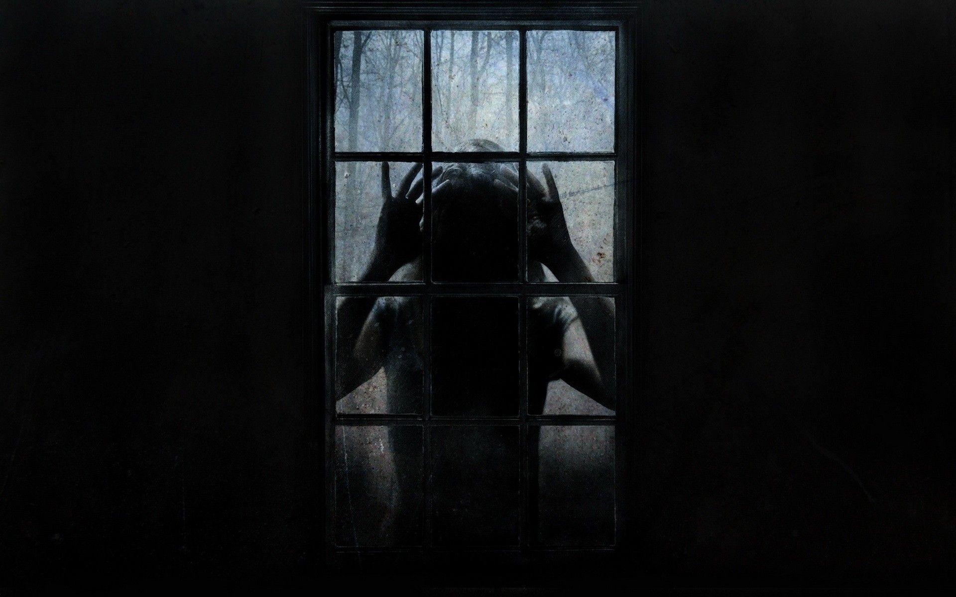 Не страшные картинки темноты