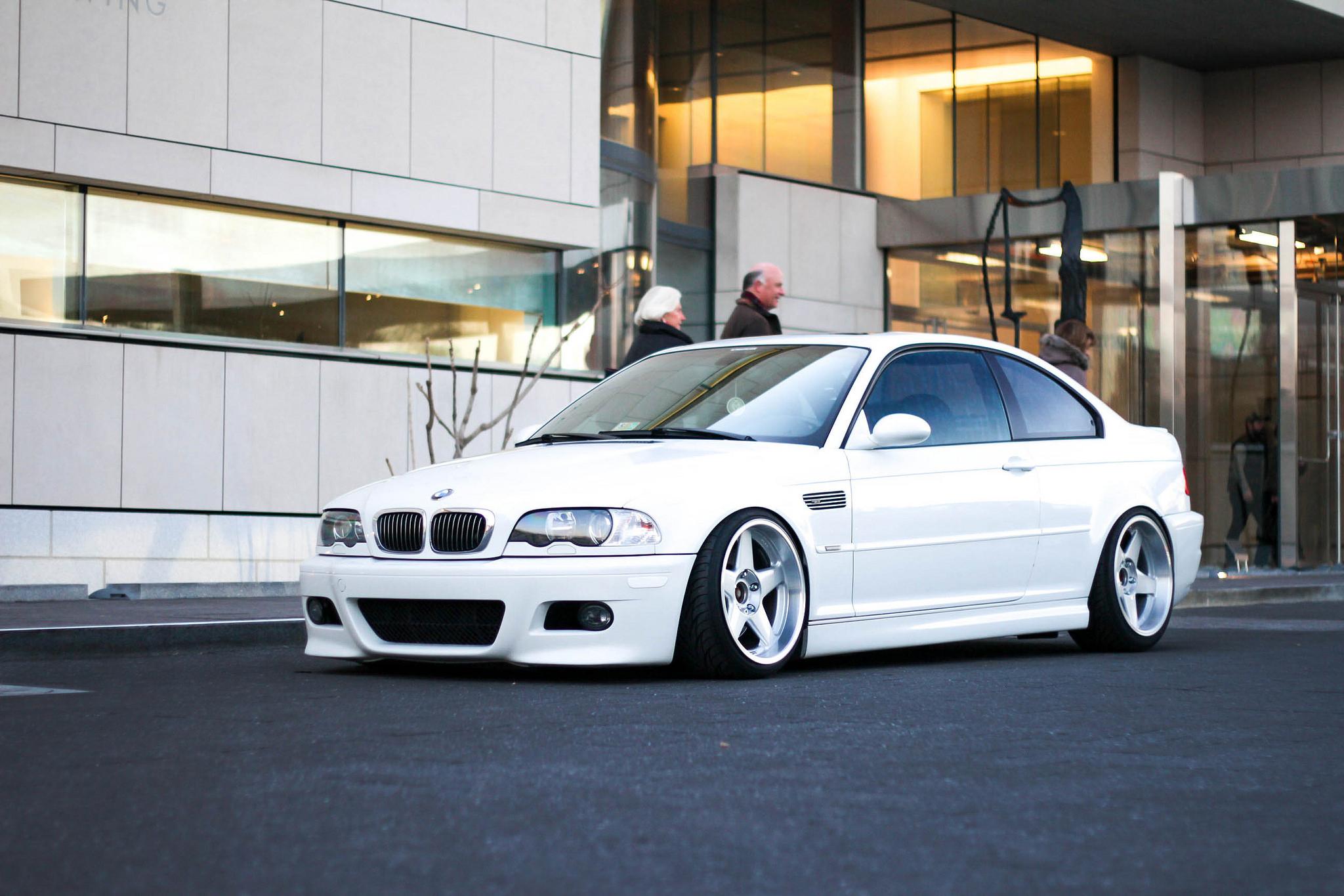 Wallpaper white e46 side view sports car bmw m3 for Car exterior design