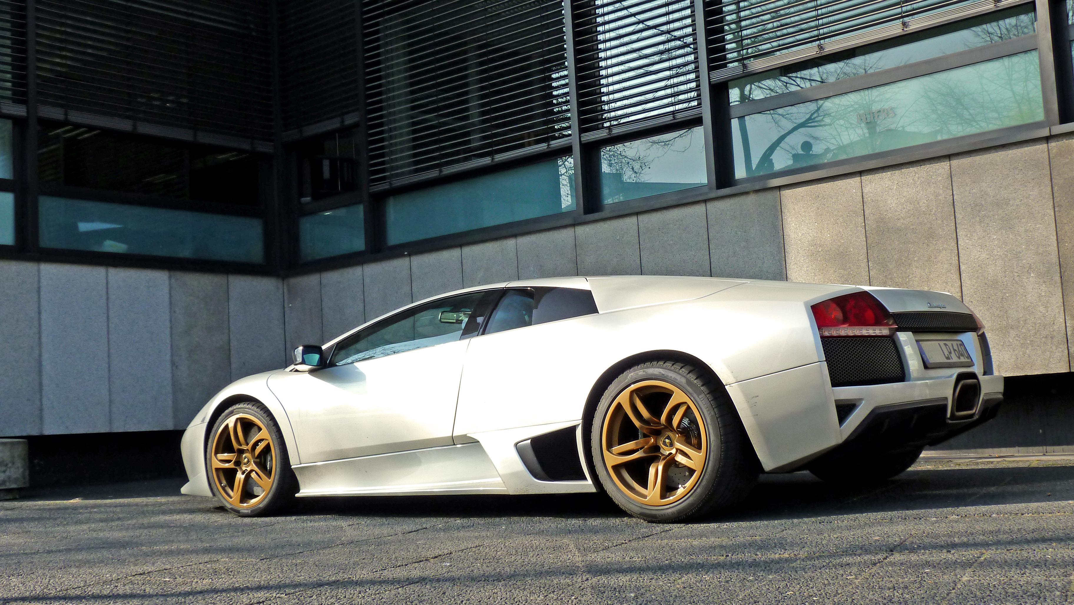 Wallpaper White Lamborghini Aventador Gold Gallardo Sports Car Murcielago Performance Reventon Bielefeld