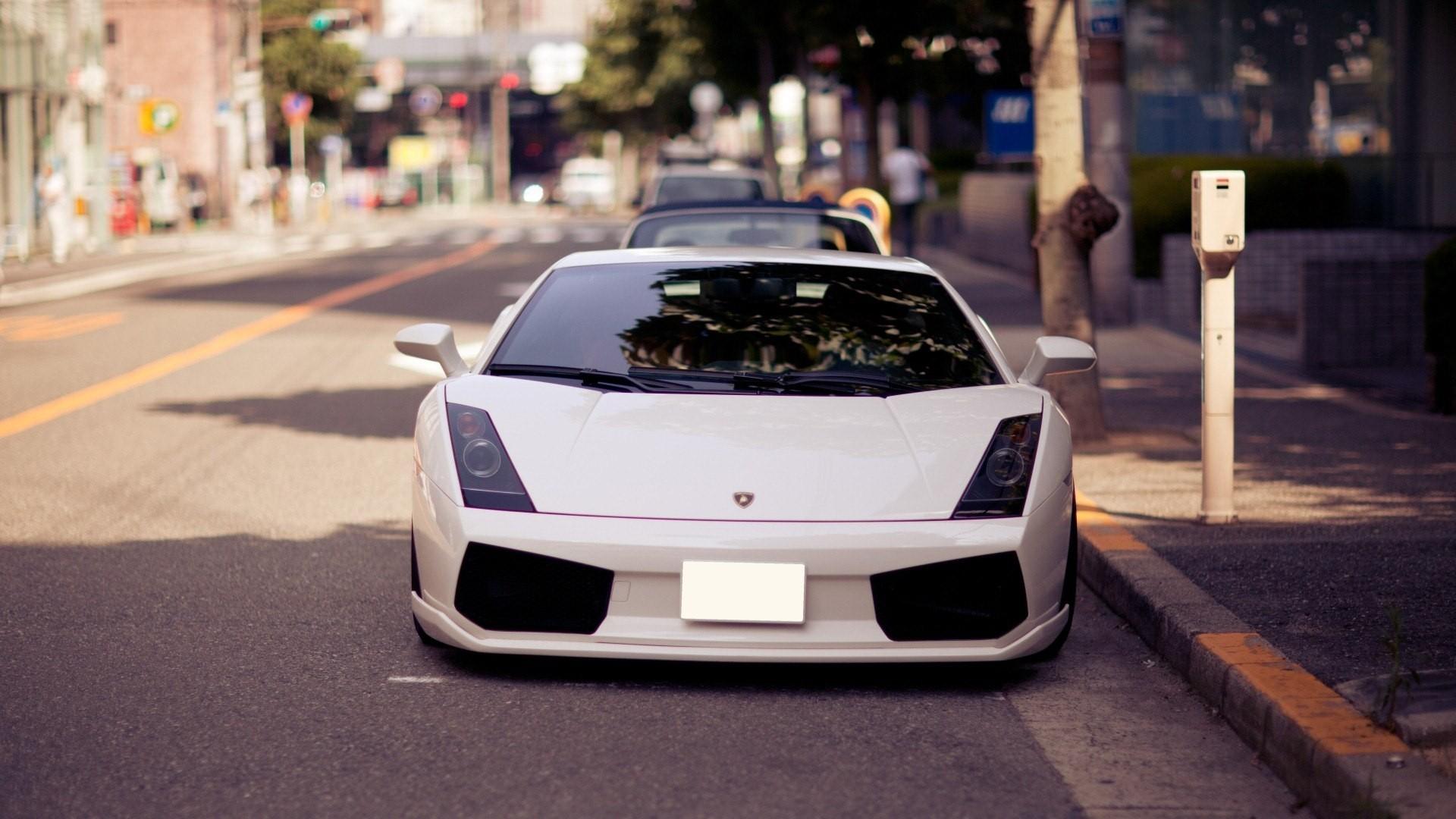 Luxurious Vw Sport Full Hd Car Wallpapers: Fondos De Pantalla : Blanco, Vehículo, Lamborghini