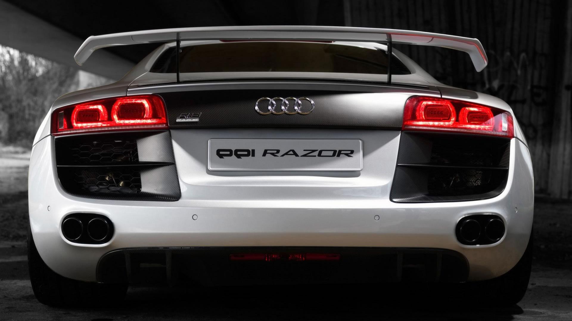 Wallpaper White Sports Car Symbols Audi R8 Coupe Performance