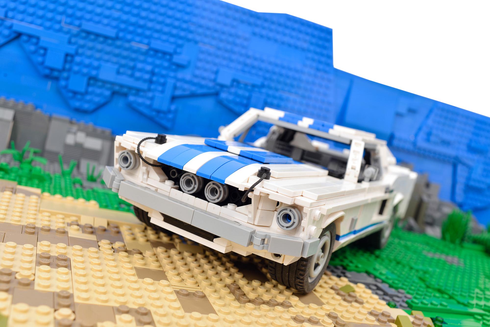 Как сделать военную машину из лего своими руками