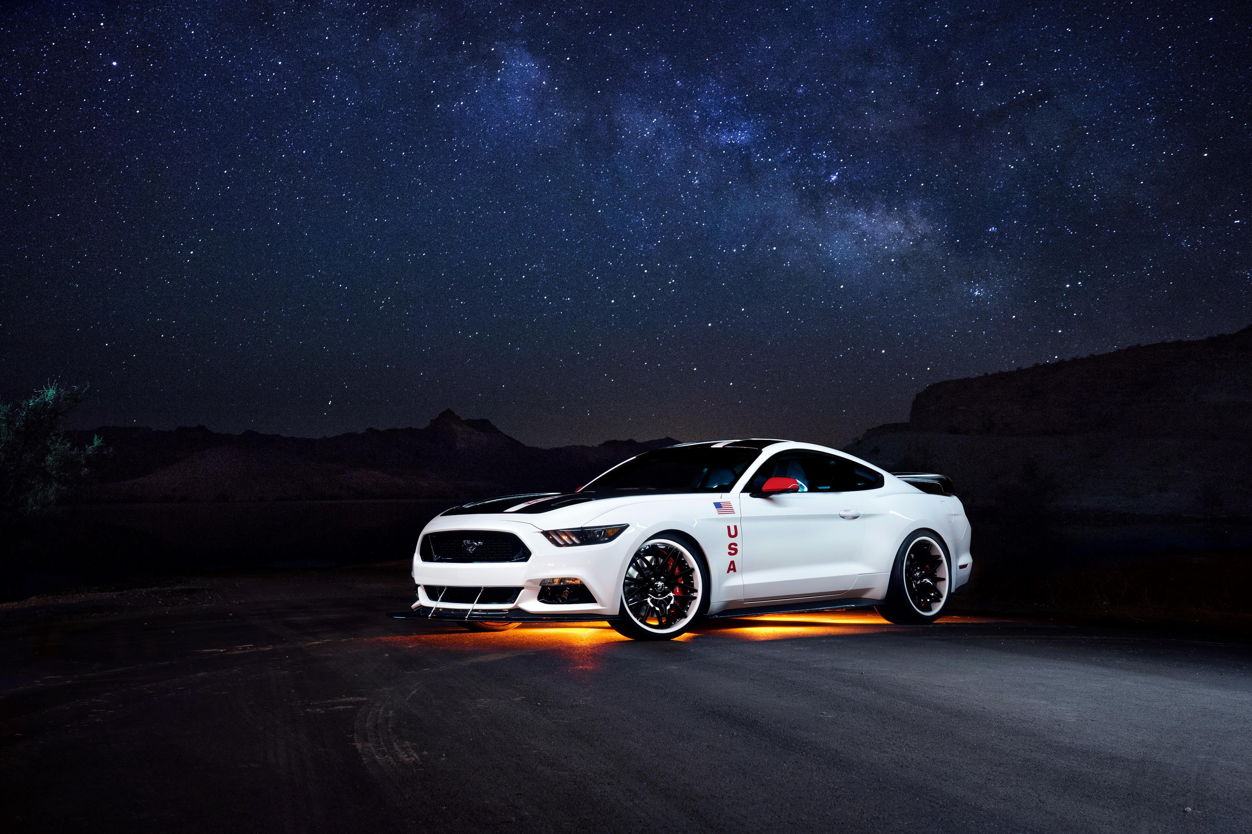 форд мустанг ночью фото #9