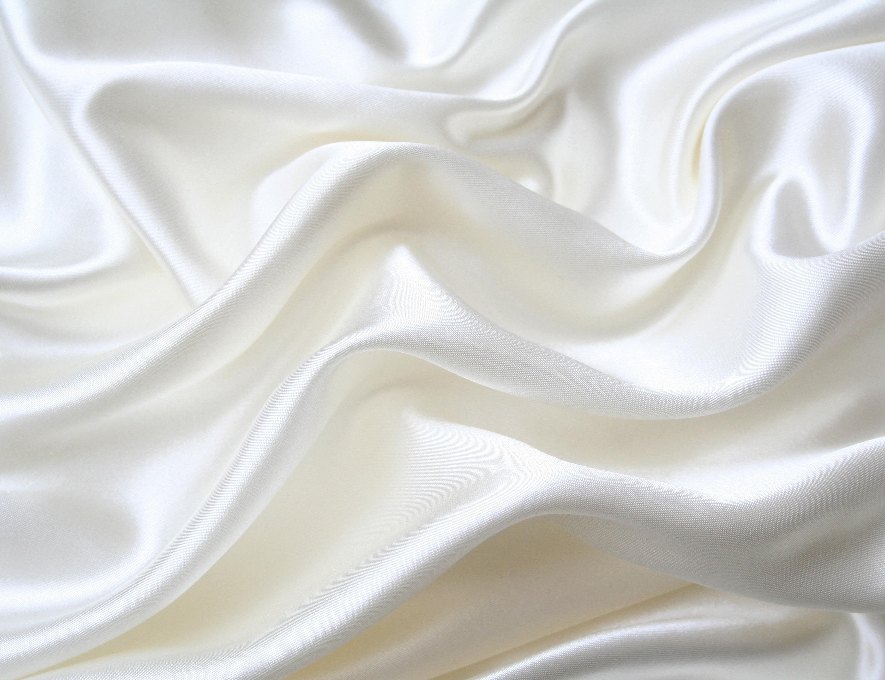 Wallpaper white pattern satin fabric silk material for Silk wallpaper