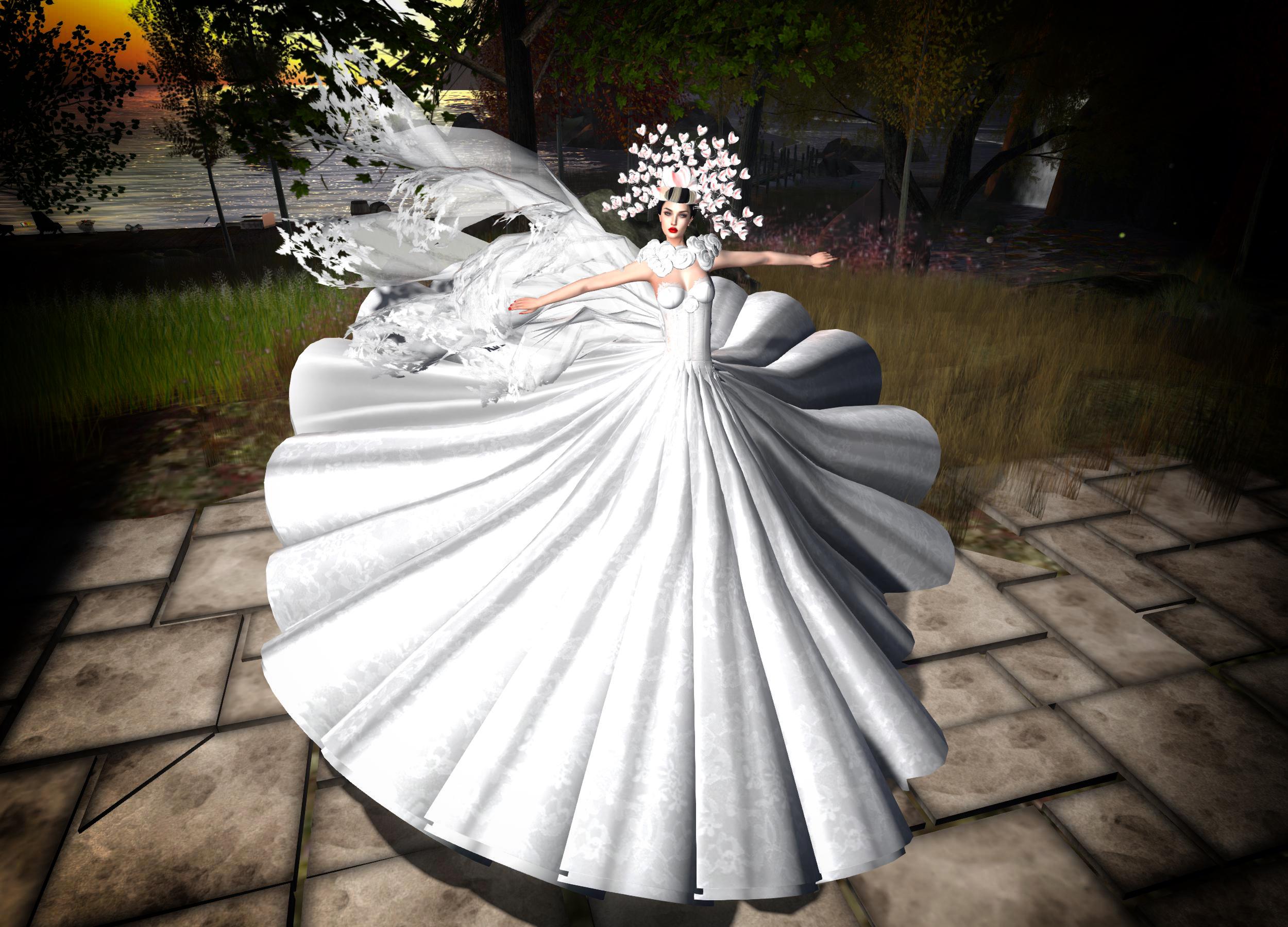 デスクトップ壁紙 白 写真 女性 ガウン ブライダル服 花嫁