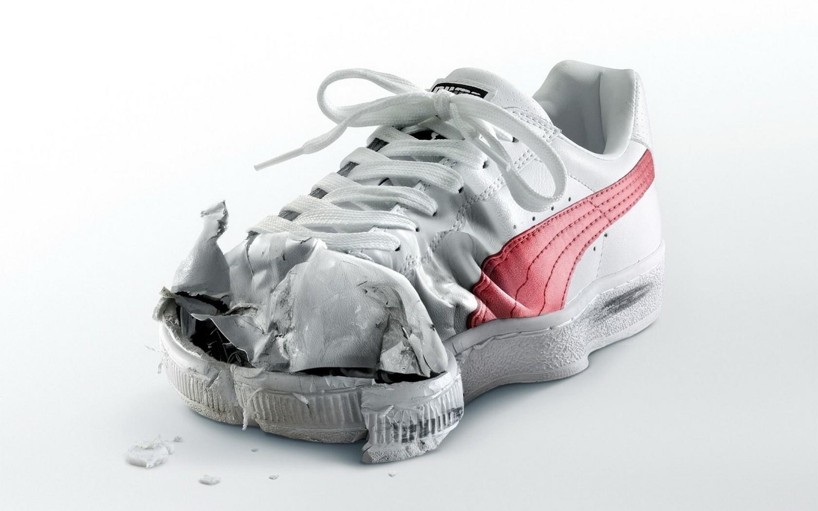 Sfondi : bianca, scarpe da ginnastica, Puma, calzature