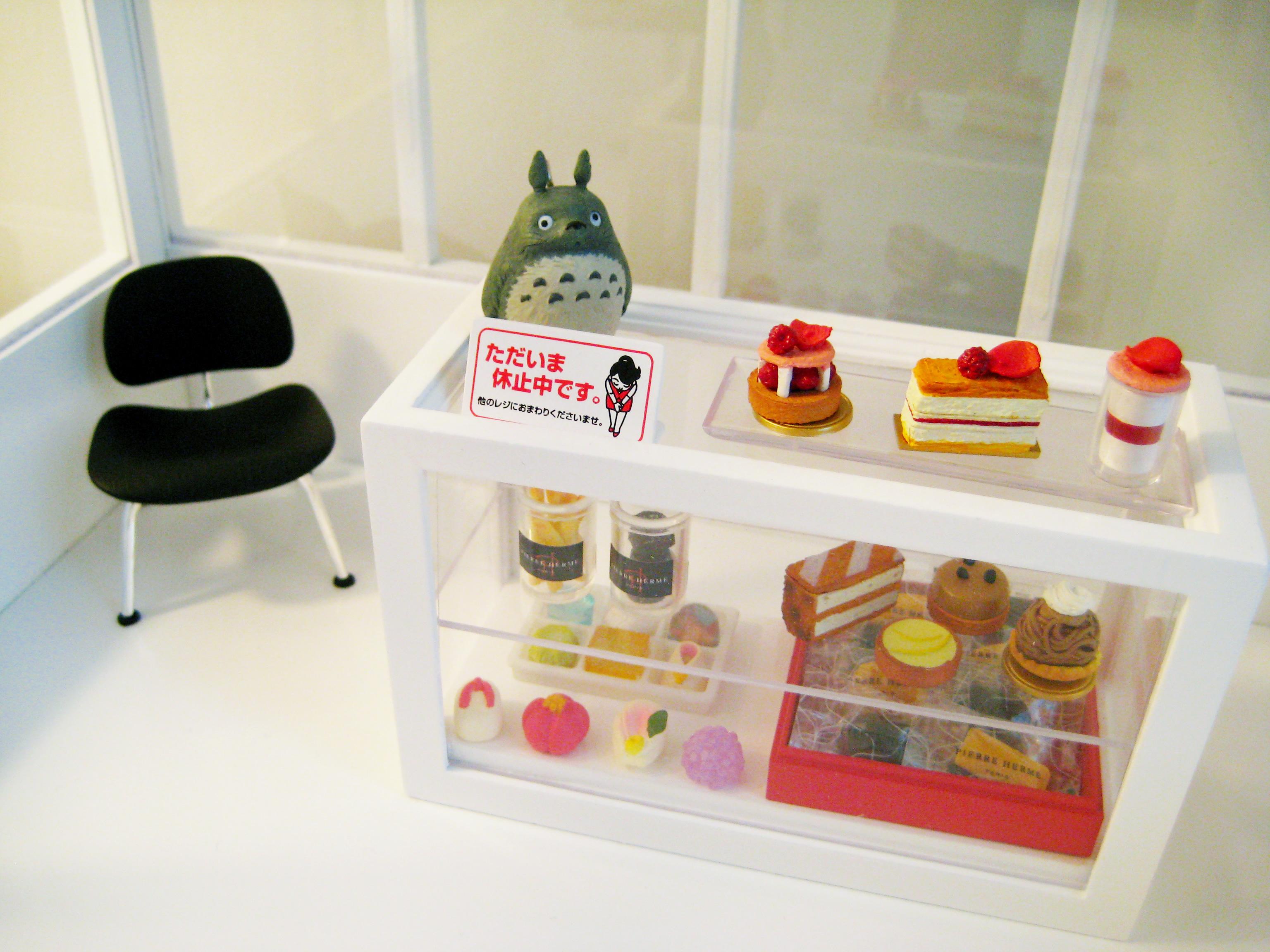 Sweet Shop Counter Displays maison de poupées miniatures