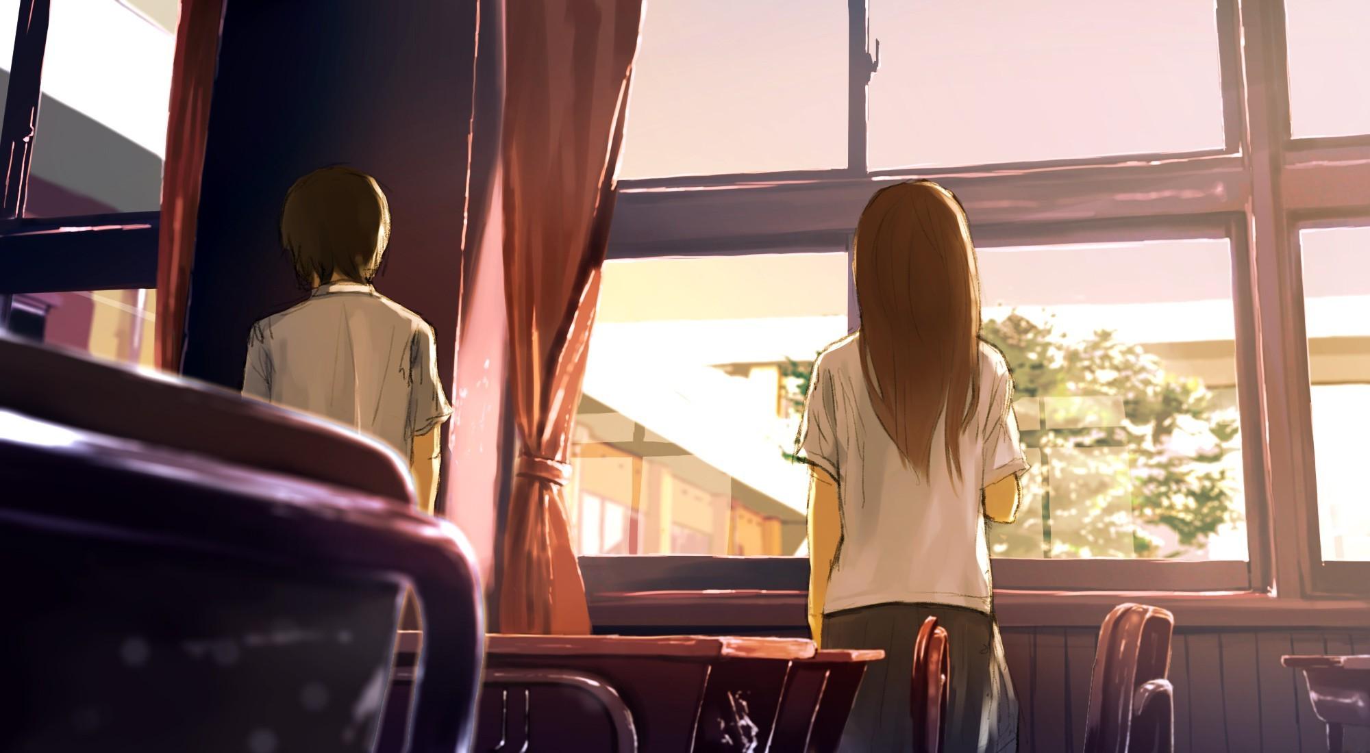 67 wallpaper anime classroom pic best wallpaper hd