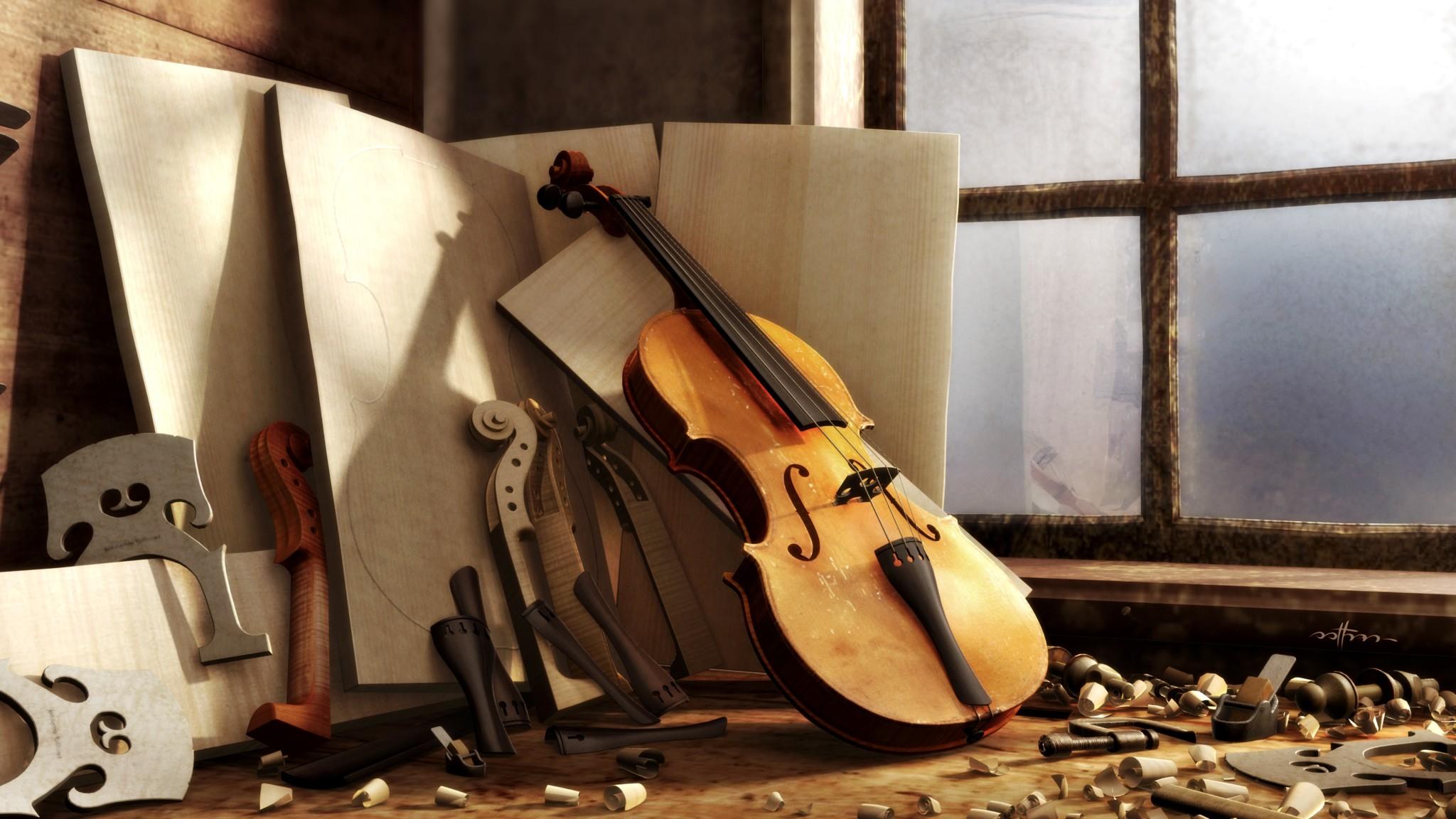 Обои для рабочего стола в музыкальном стиле