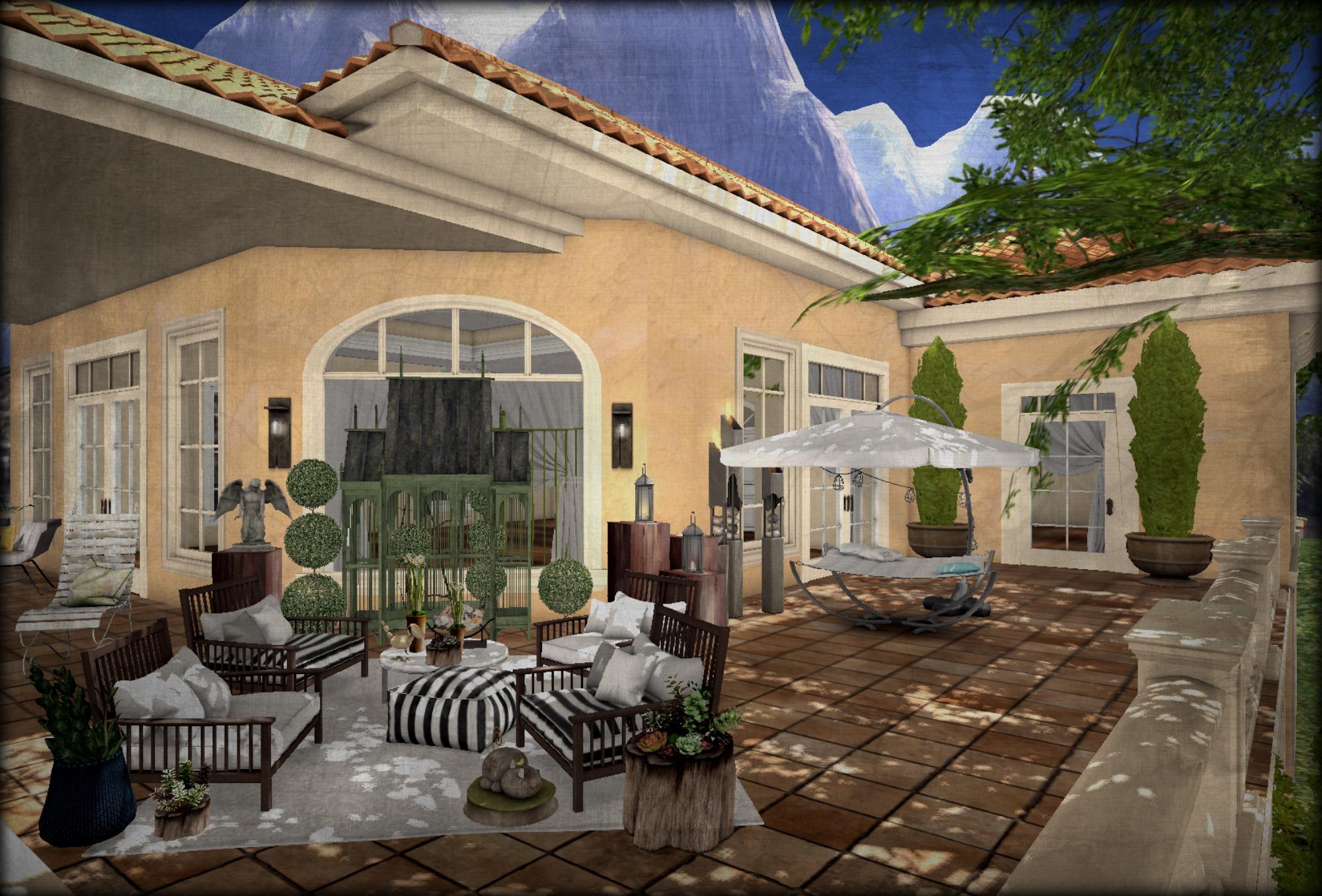Fondos de pantalla ventana coraz n casa caba a patio interior inmuebles techo mudhoney - Ley propiedad horizontal patio interior ...