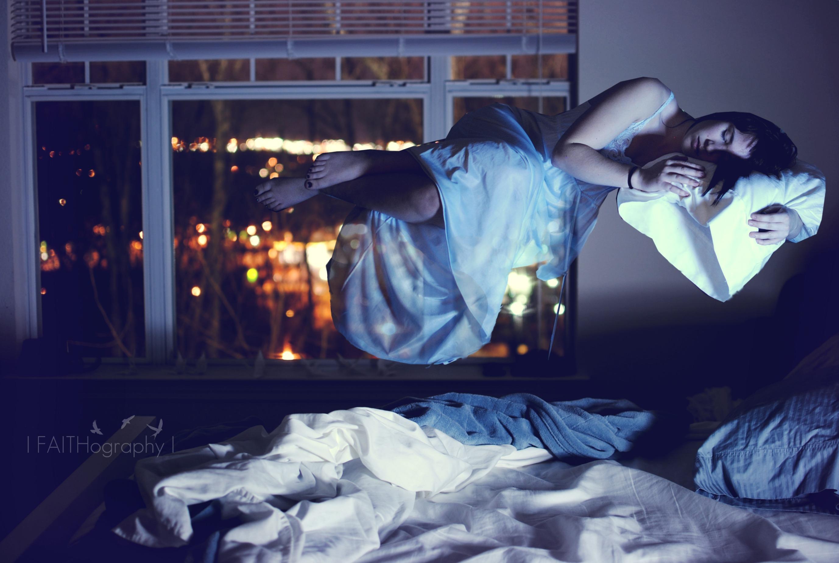 Window Night Space Love Bed Dress Calm Nikon Bokeh Peace Sleep Midnight Light Girl Layers Fun